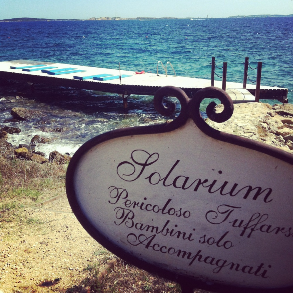 Spending the Day at Capo D'Orso Hotel, Sardinia