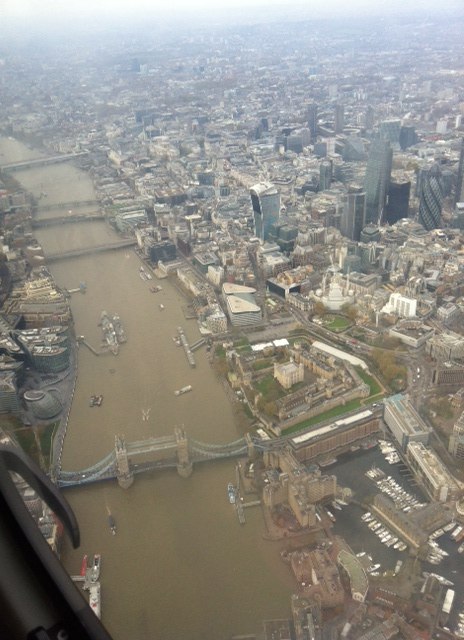A VIP Flight Experience with The London Helicopter