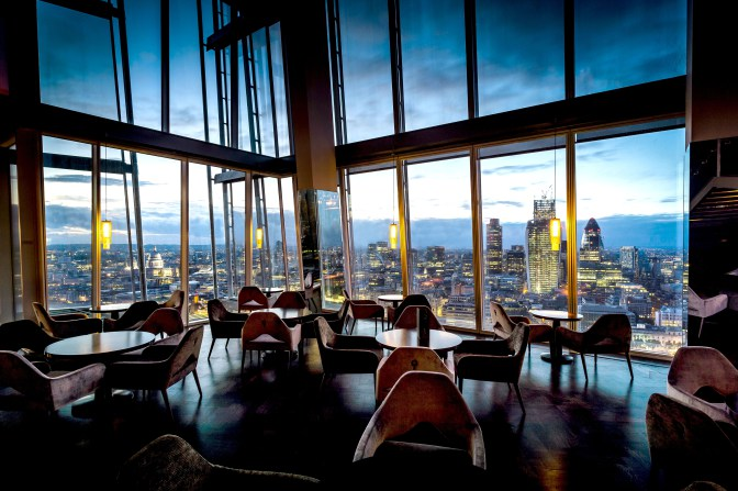 A Romantic Evening at Aqua Shard London
