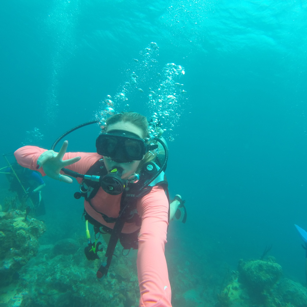 Scuba Diving for Lobsters at The Four Seasons, Nevis