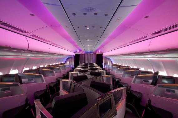 London to Antigua: Flying First Class with Virgin Atlantic