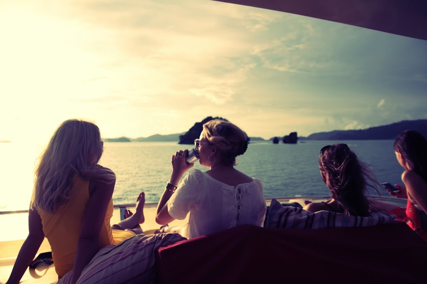 A Super-Yacht Sunset Cruise in Langkawi, Malaysia