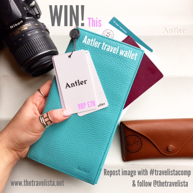 The Travelista Competition: WIN an Antler Juno Suitcase and Antler Travel Accessories