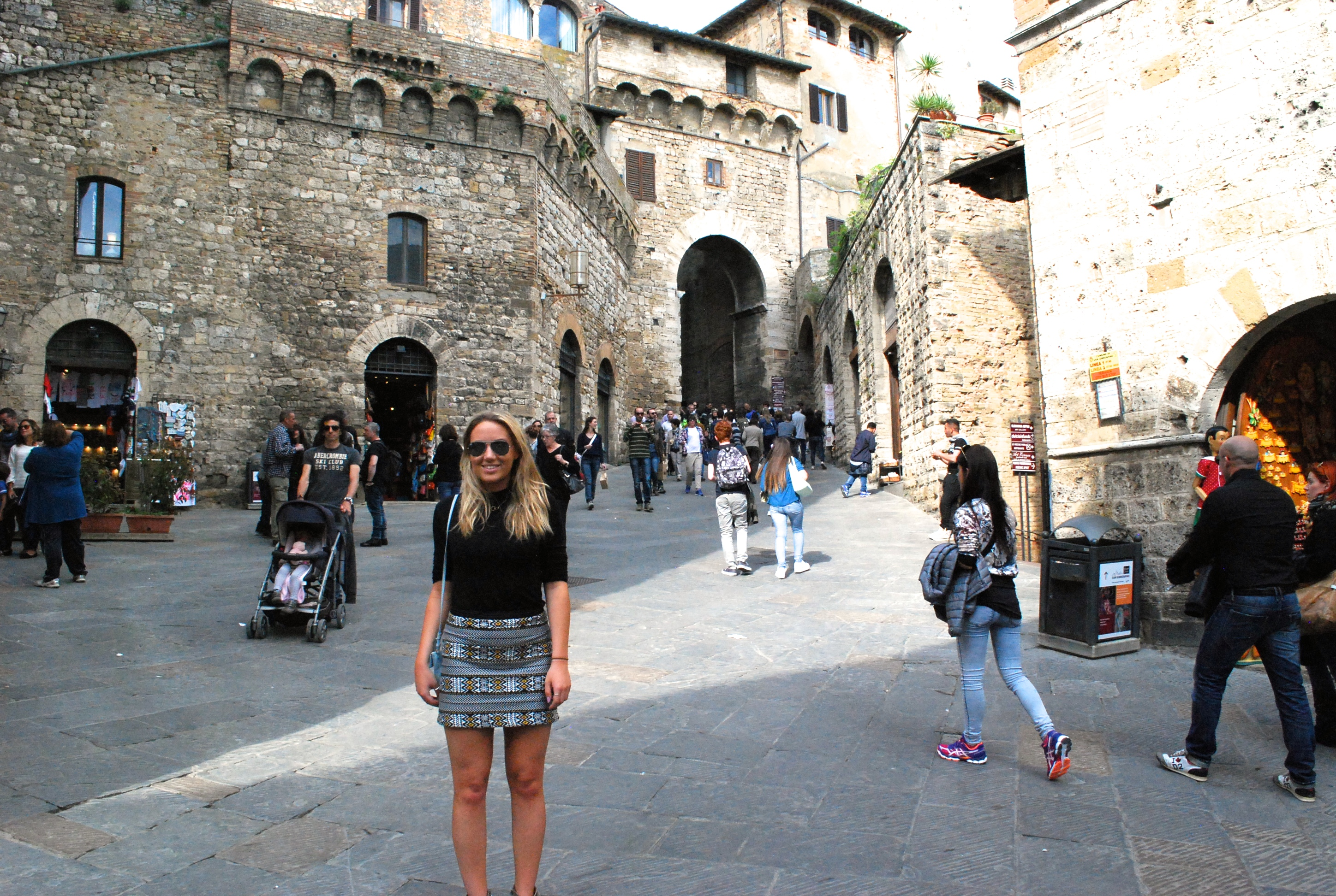My Tuscany Road Trip Part 1; Pisa to San Gimignano