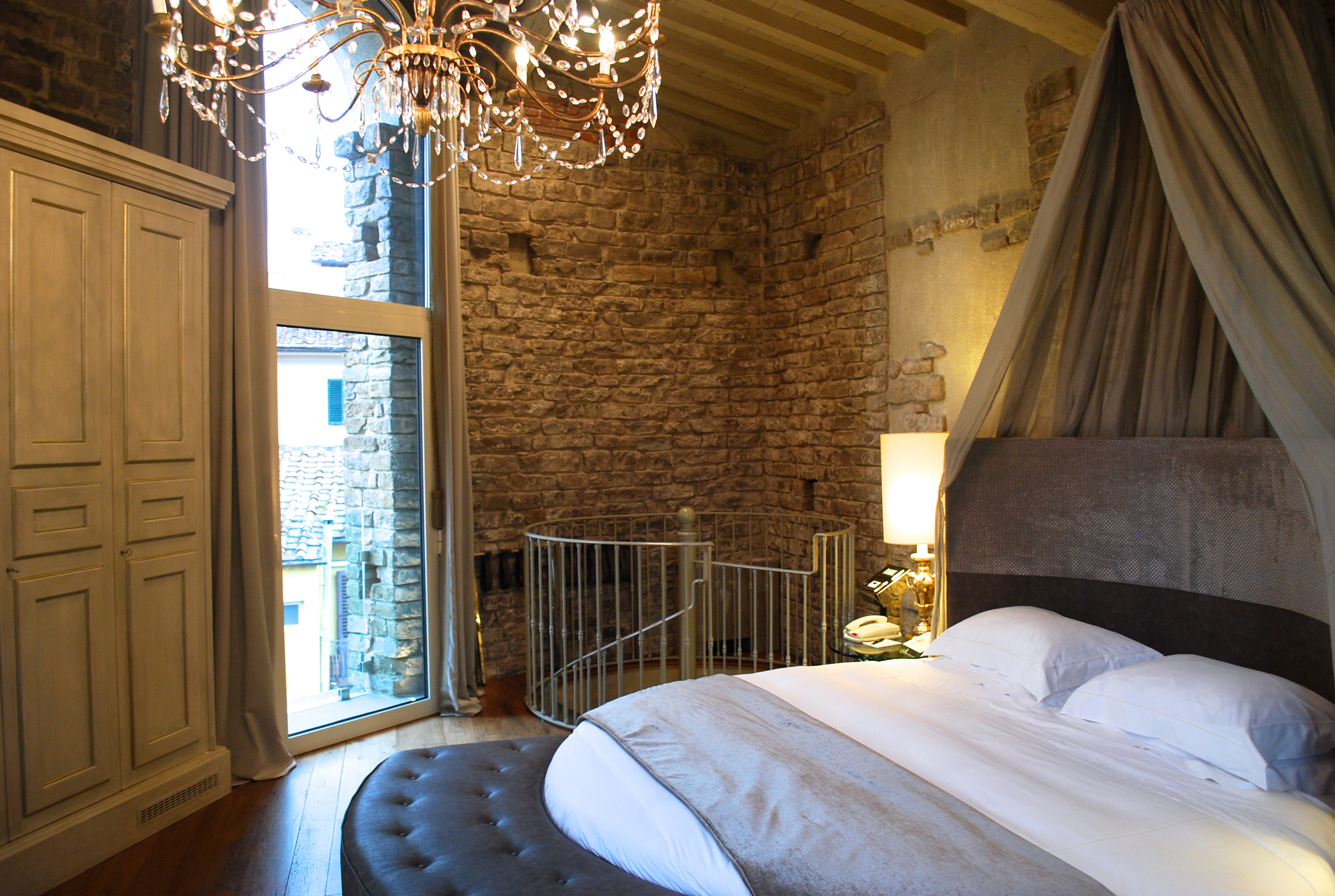 The Tower Suite at Hotel Brunelleschi, Florence