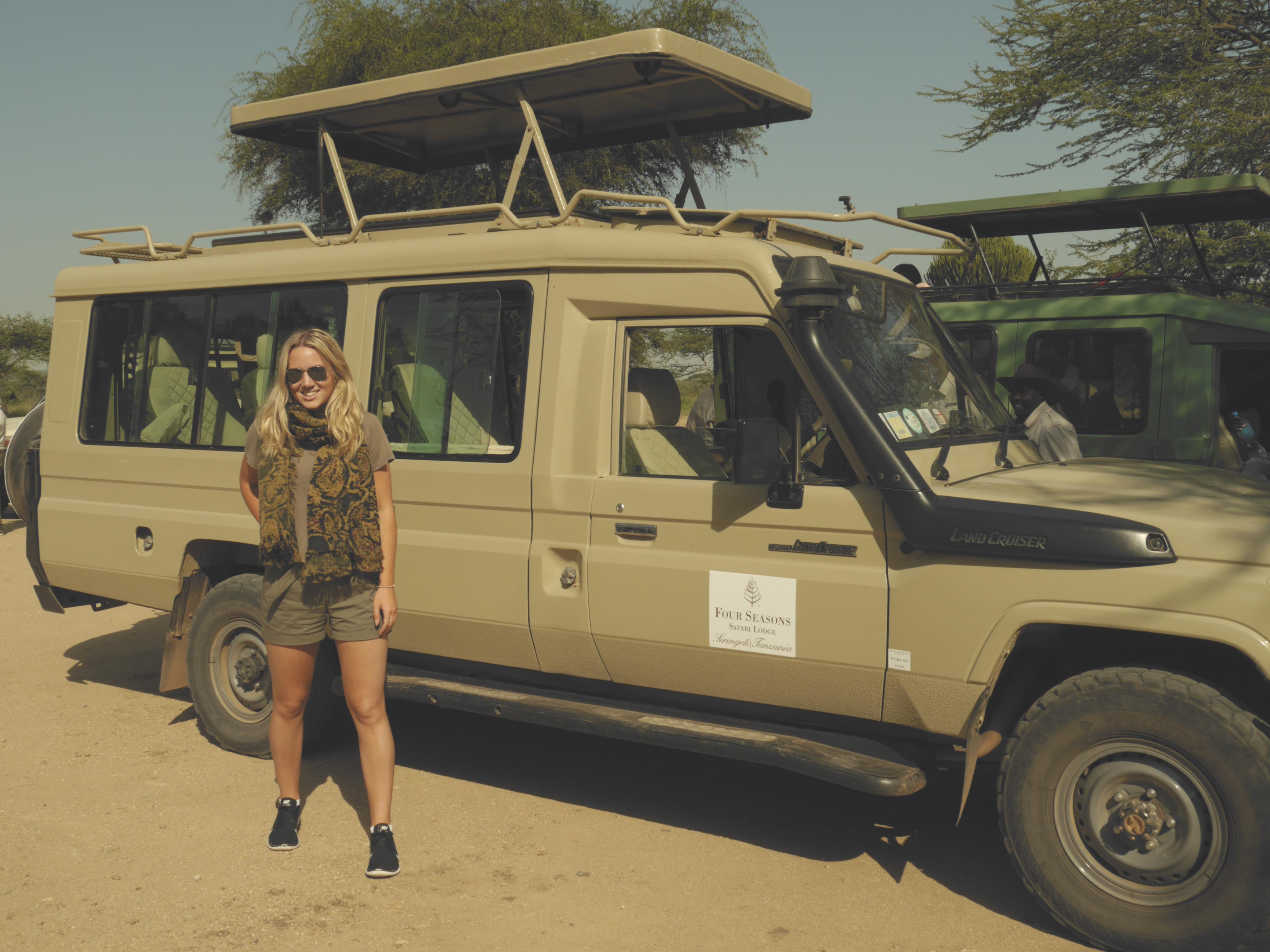 Spotting The 'Big 5' on Safari in The Serengeti, Tanzania