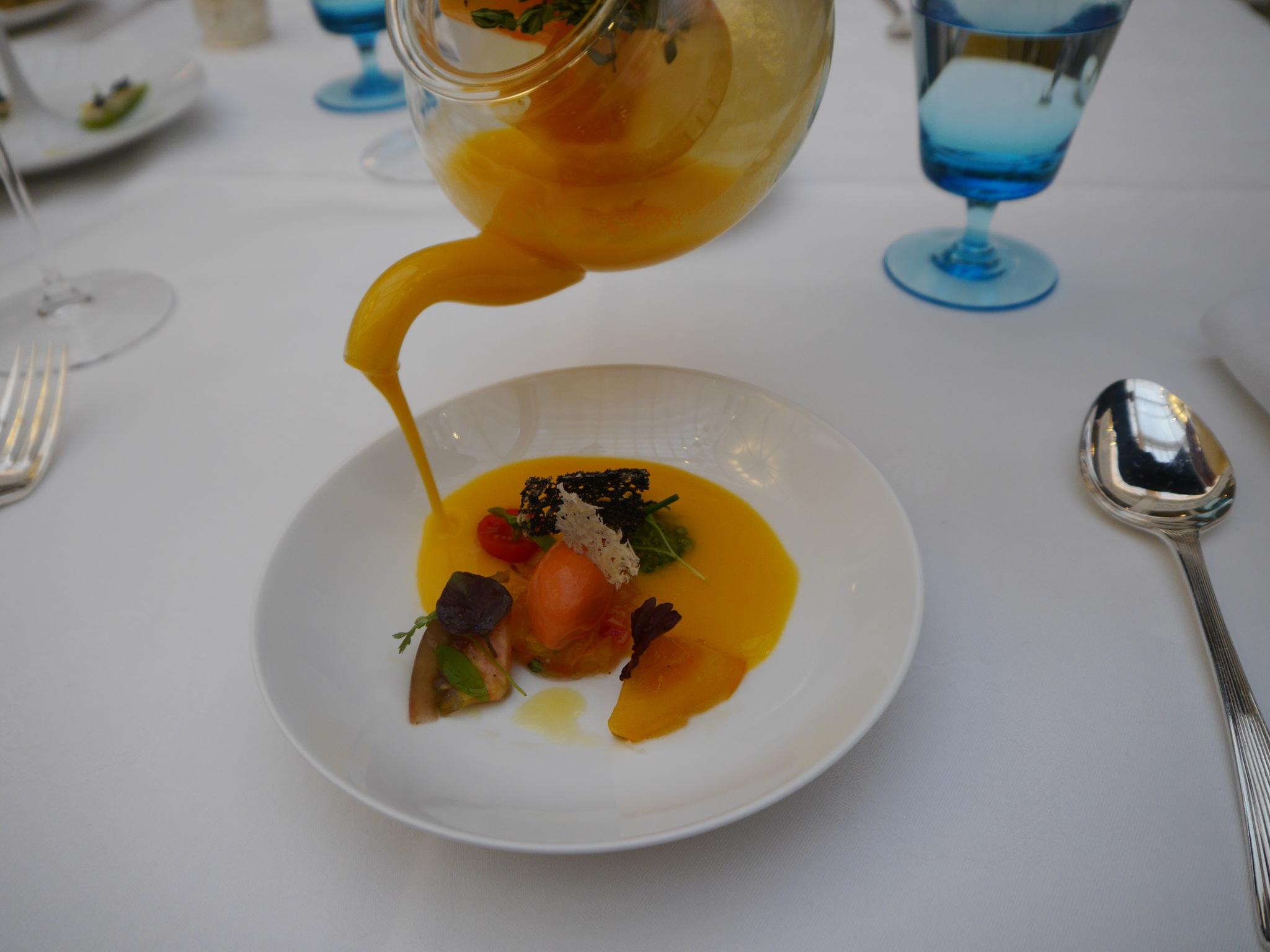 Celeste Restaurant London Review