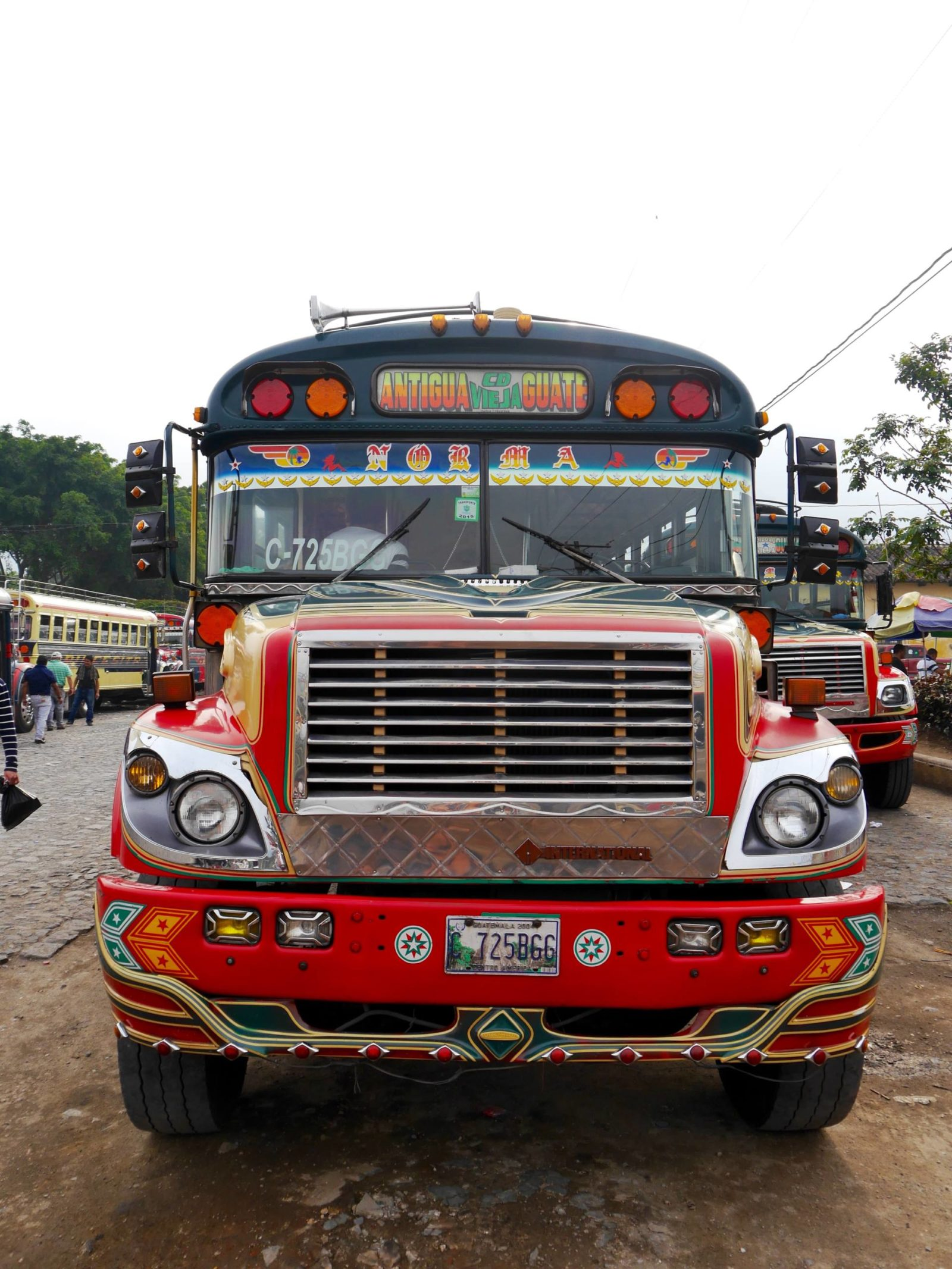 antigua-guatemala-chicken-bus