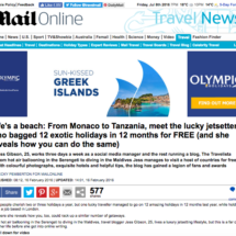 Daily Mail Press Cutting