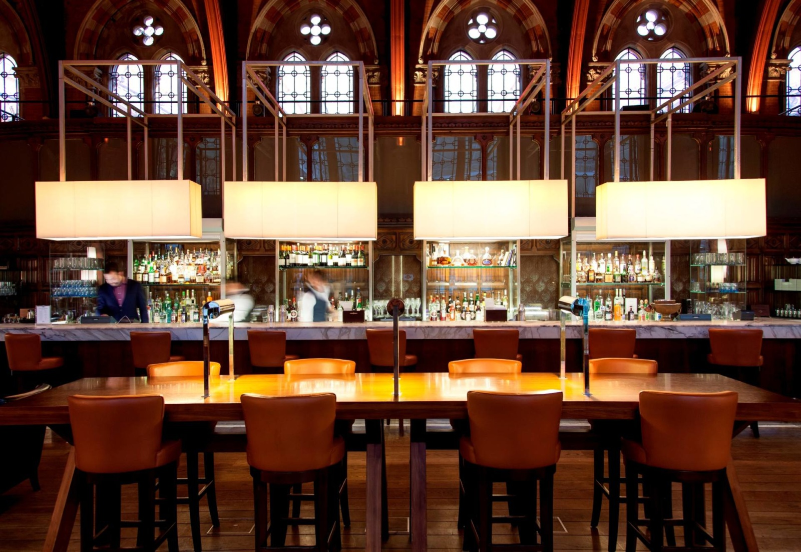 st pancras choosing place of work drink station review