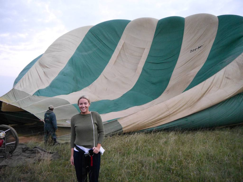 Hot Air Balloon Safari in the Serengeti