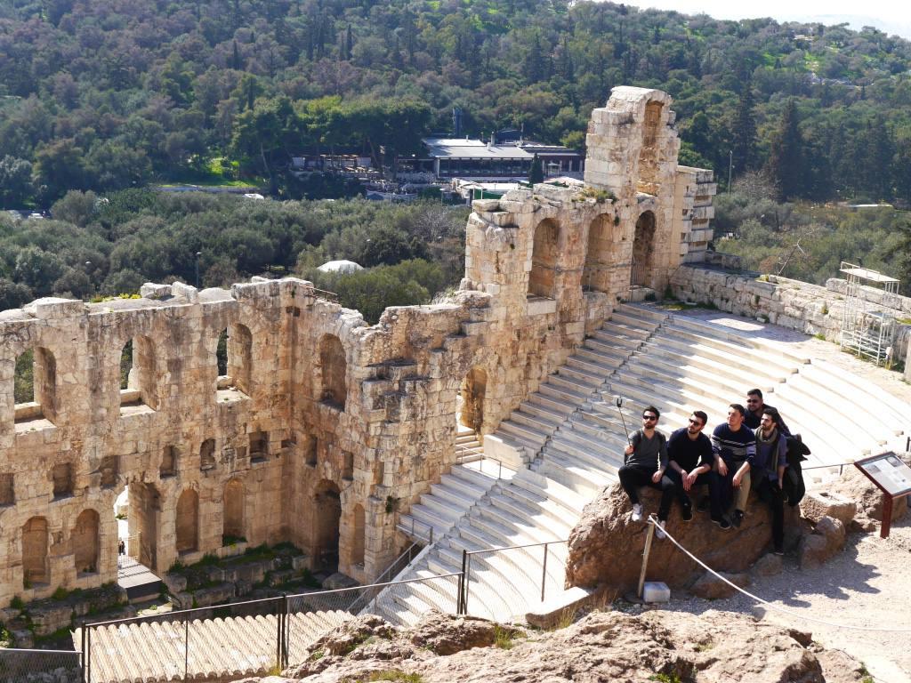 acropolis-athens-selfie-greece