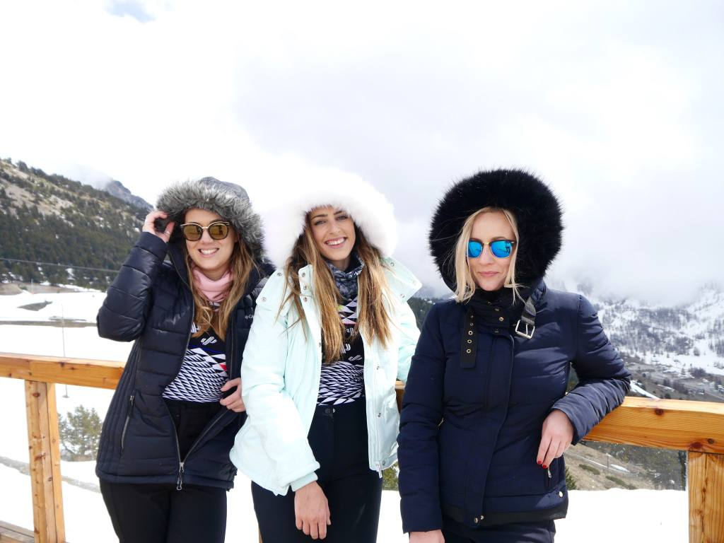 A Girls Ski Trip To Montgenevre