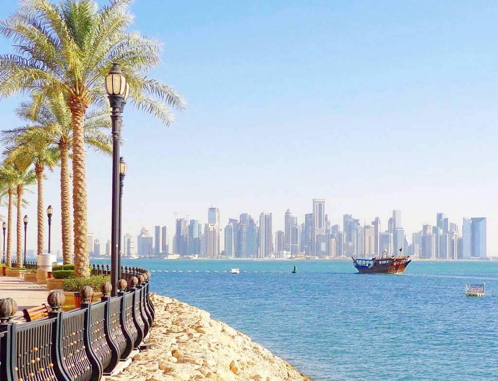 General Doha view