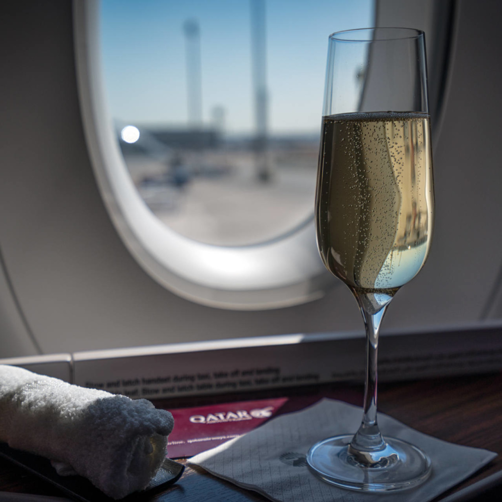 What to Expect Flying Business Class with Qatar Airways