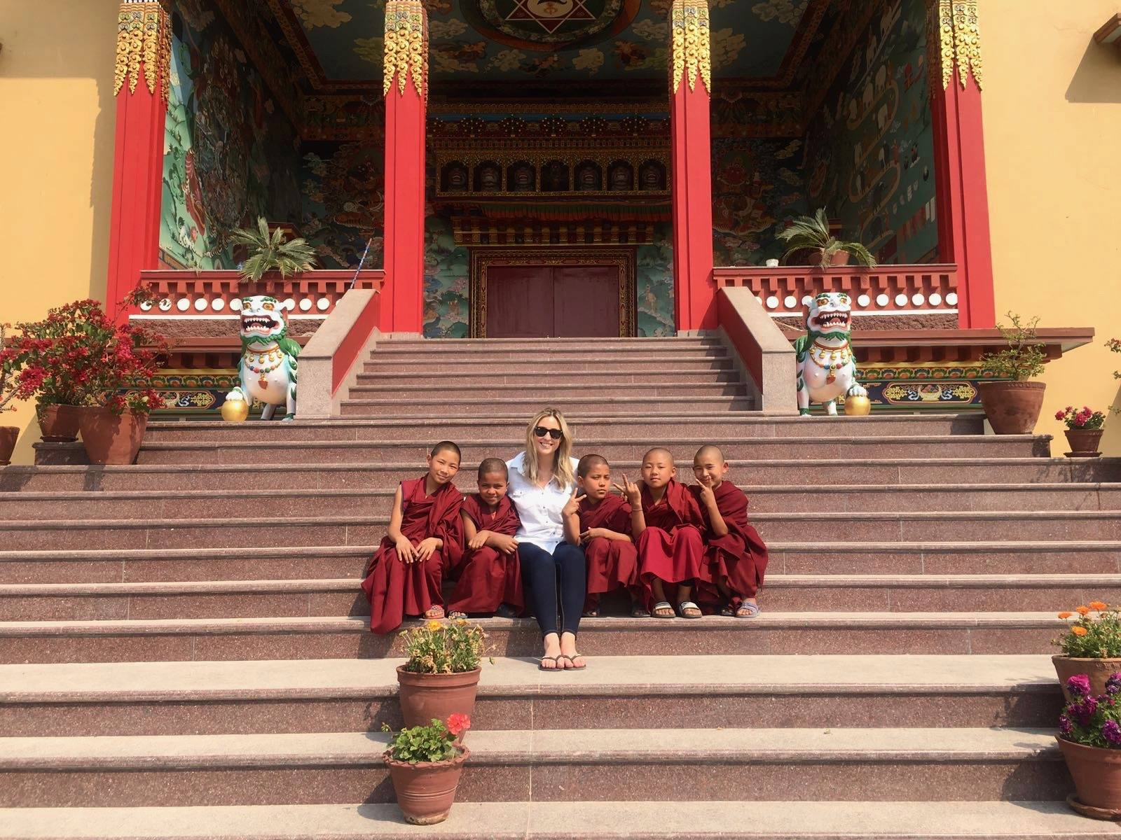 2 week Nepal Itinerary - Monastery Kathmandu
