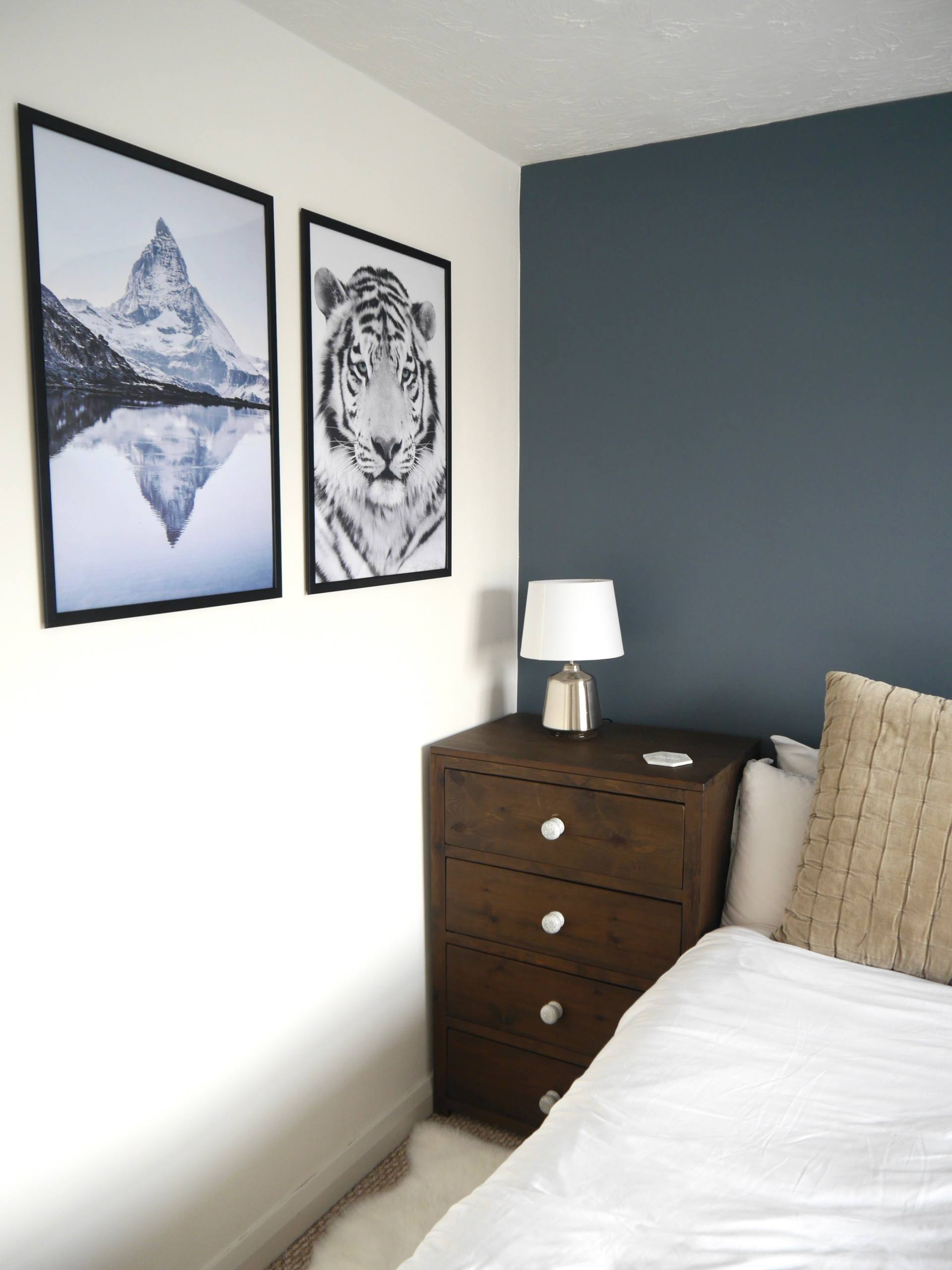 Desenio Framed Posters in Bedroom - Add Personality To Your New Home