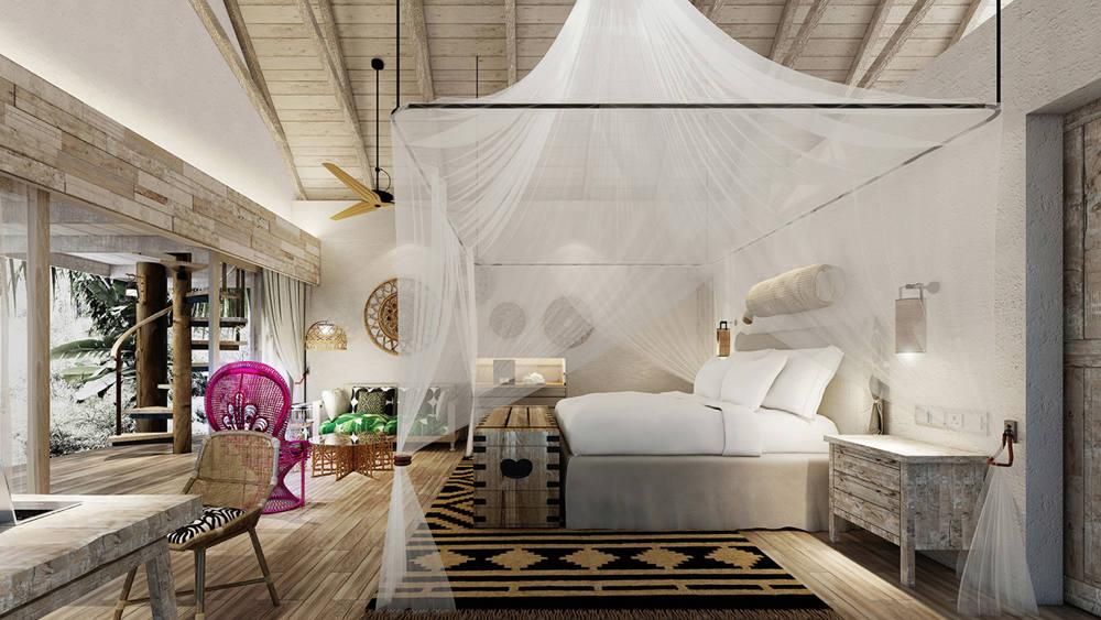 Four Seasons Seychelles Desroches Island - Bedroom