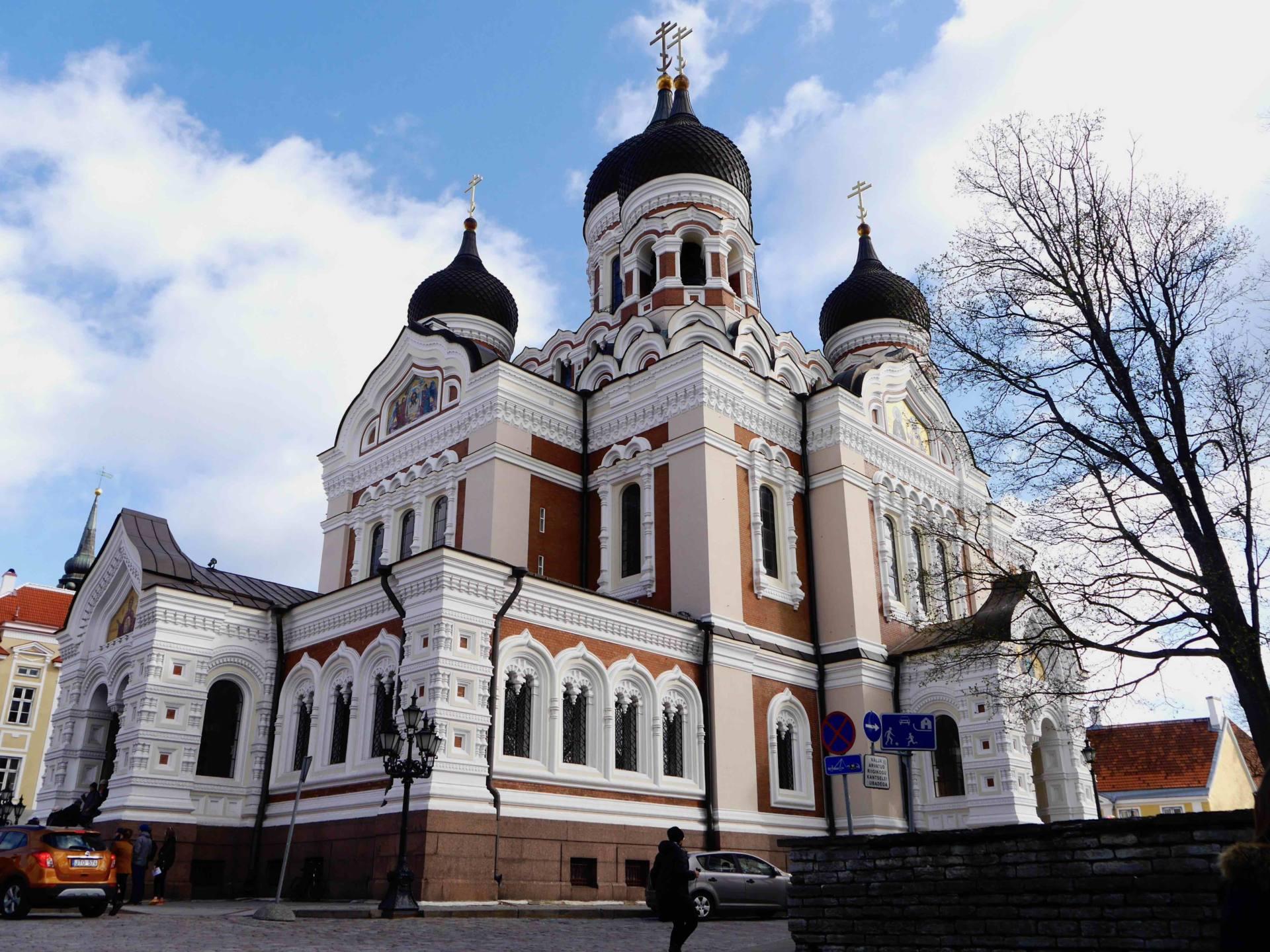 Scandinavian Cruise Alexander Nevsky Cathedral Tallinn