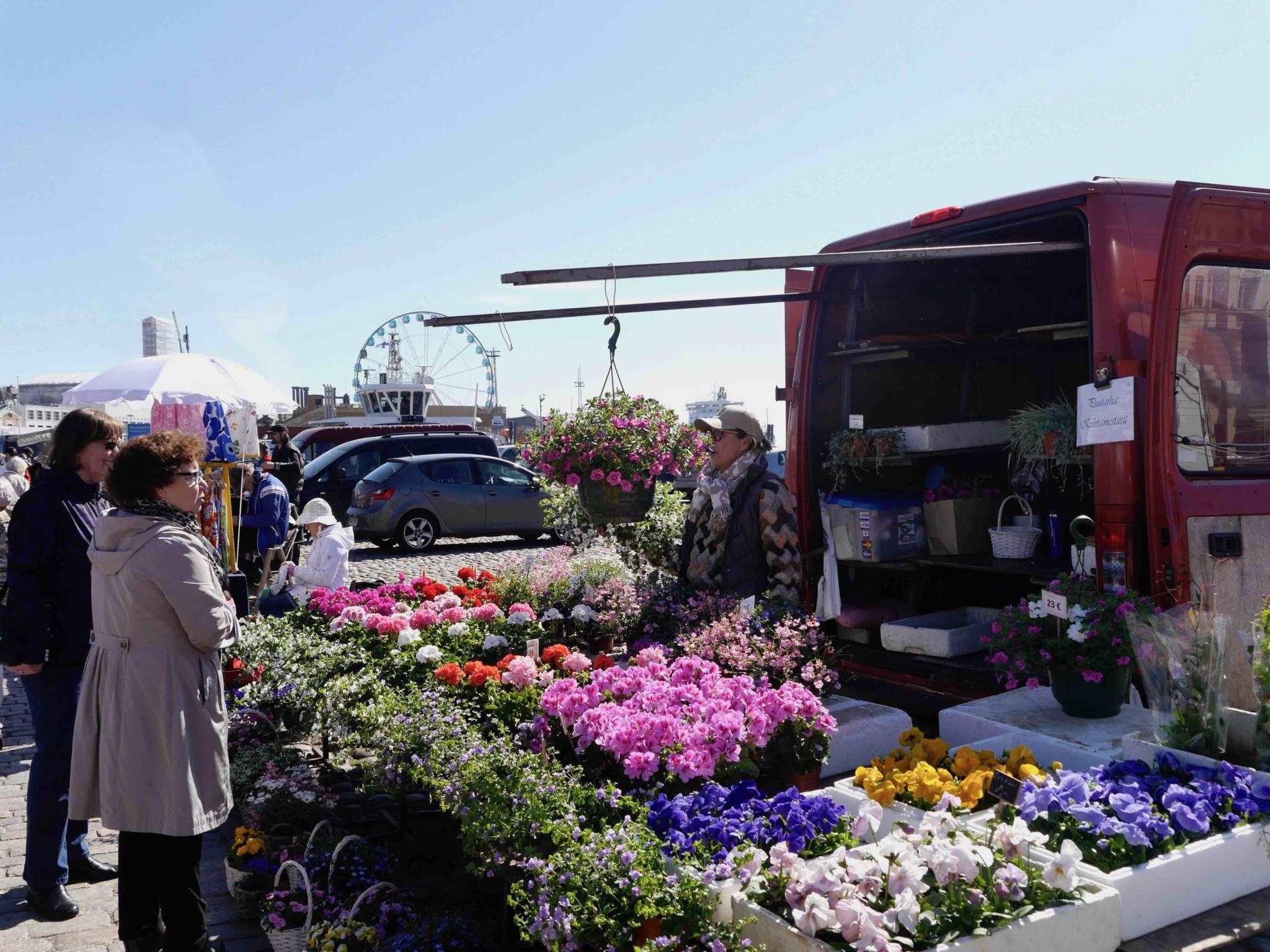 Helsinki Open Air Market