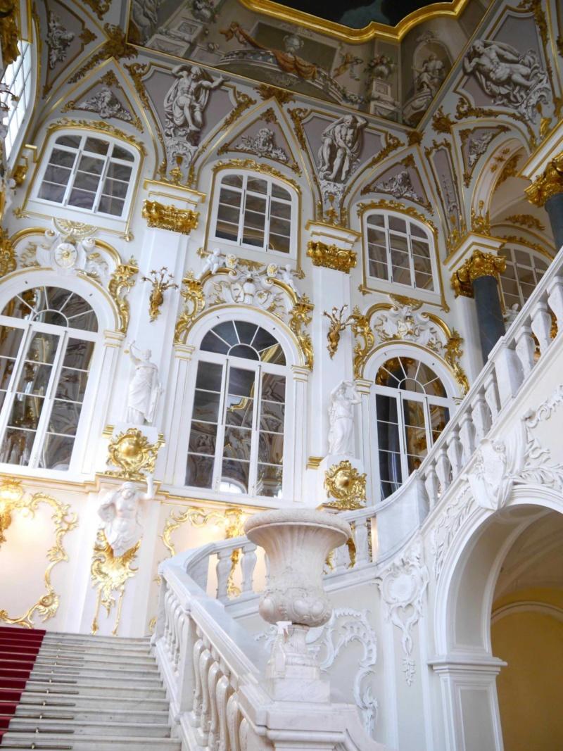 Hermitage Museum Staircase St Petersburg