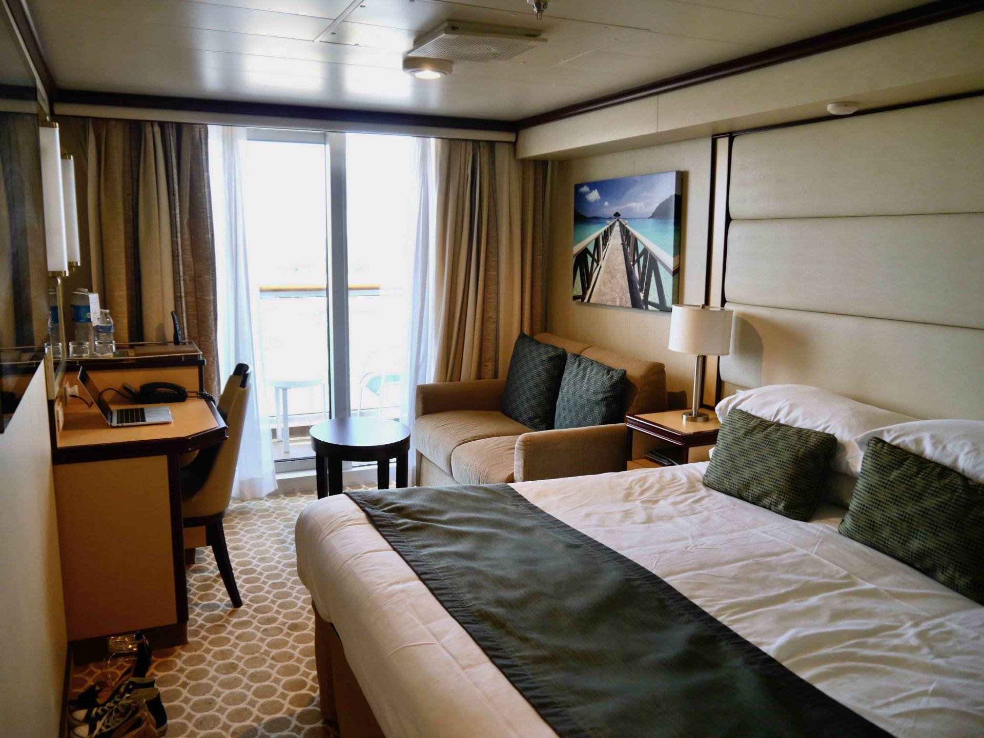 Regal Princess Cruise Ship - Balcony Stateroom