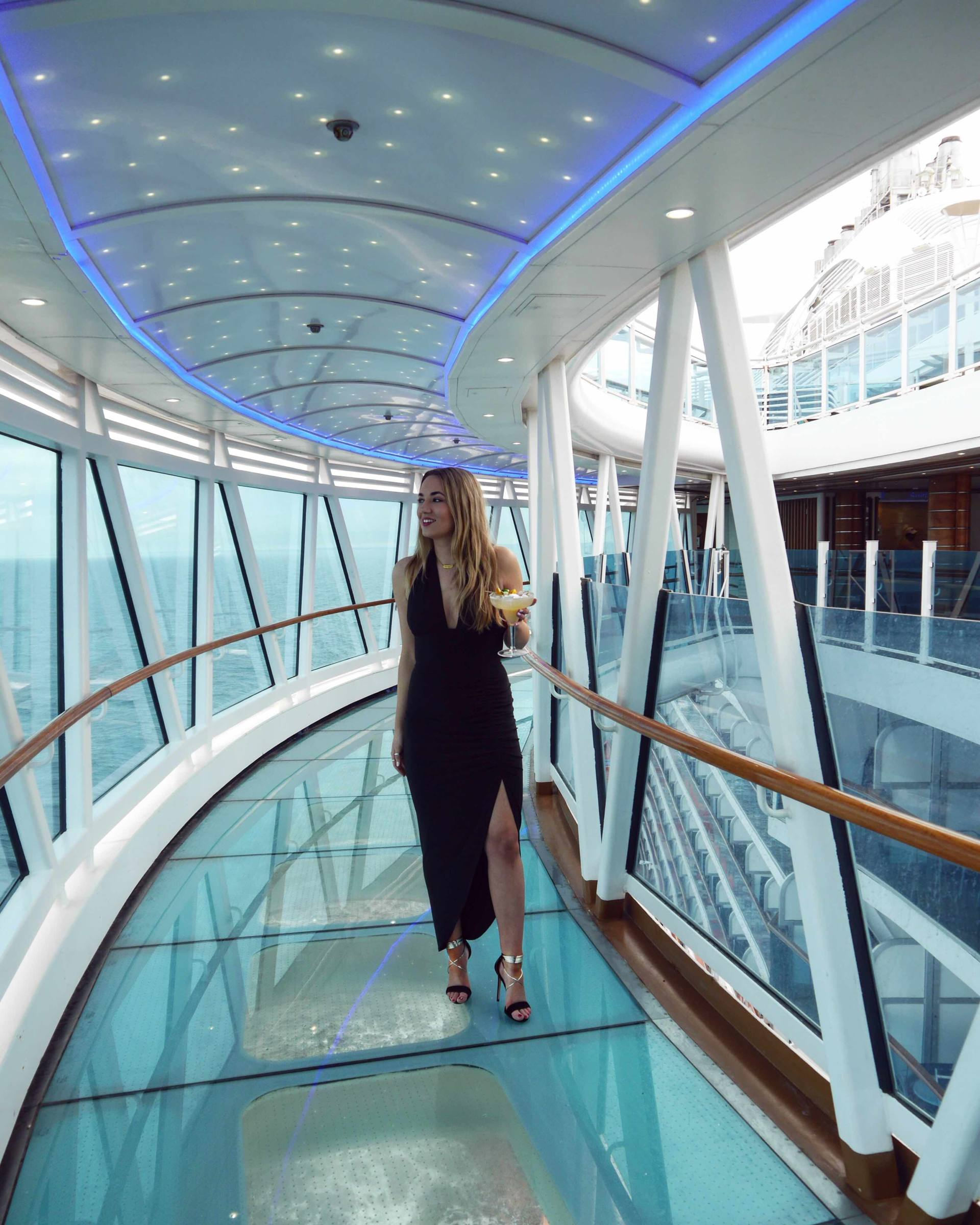 Regal Princess Cruise Ship - Sea Walk - The Travelista