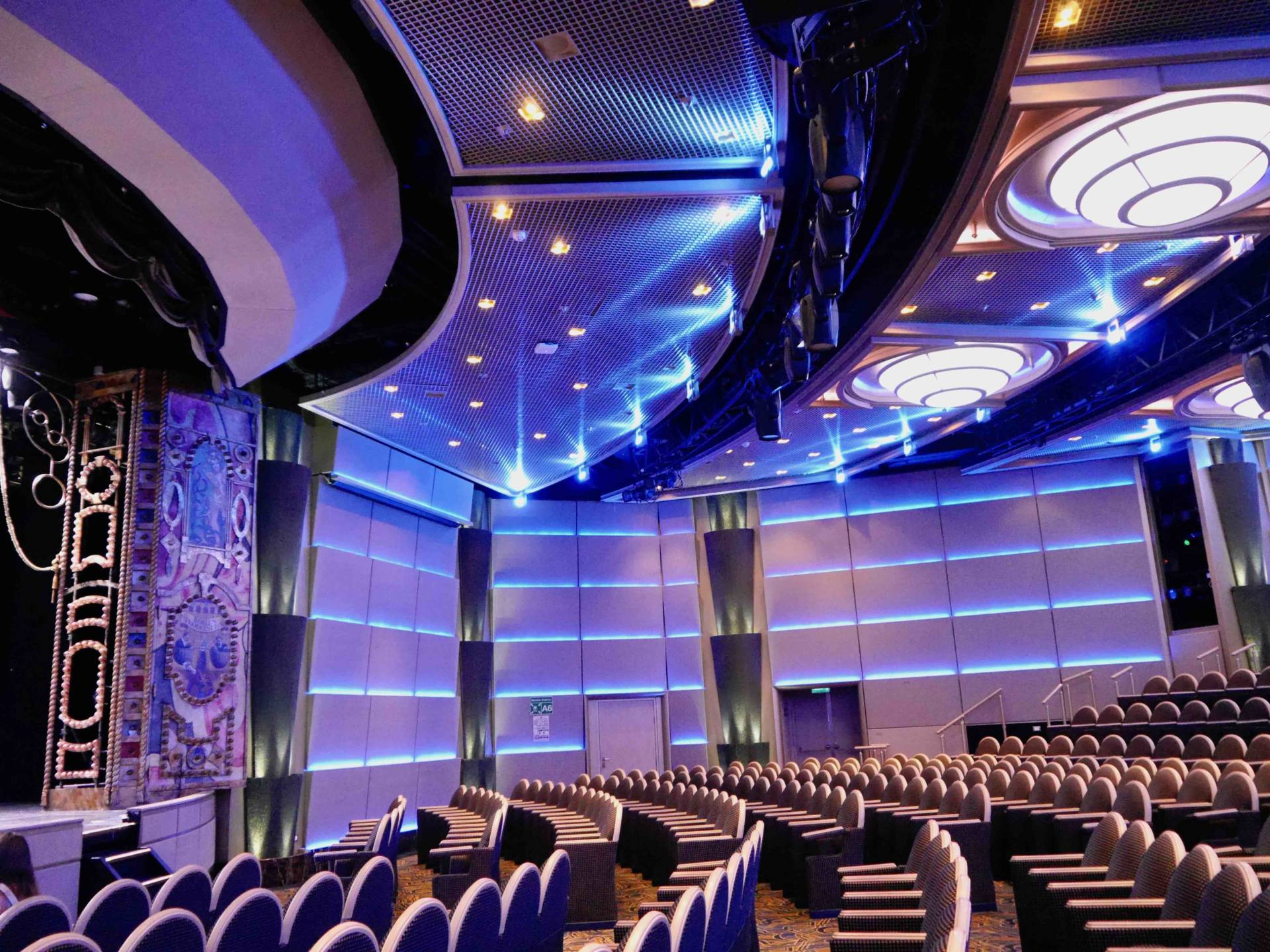 Regal Princess Cruise Ship - Theatre