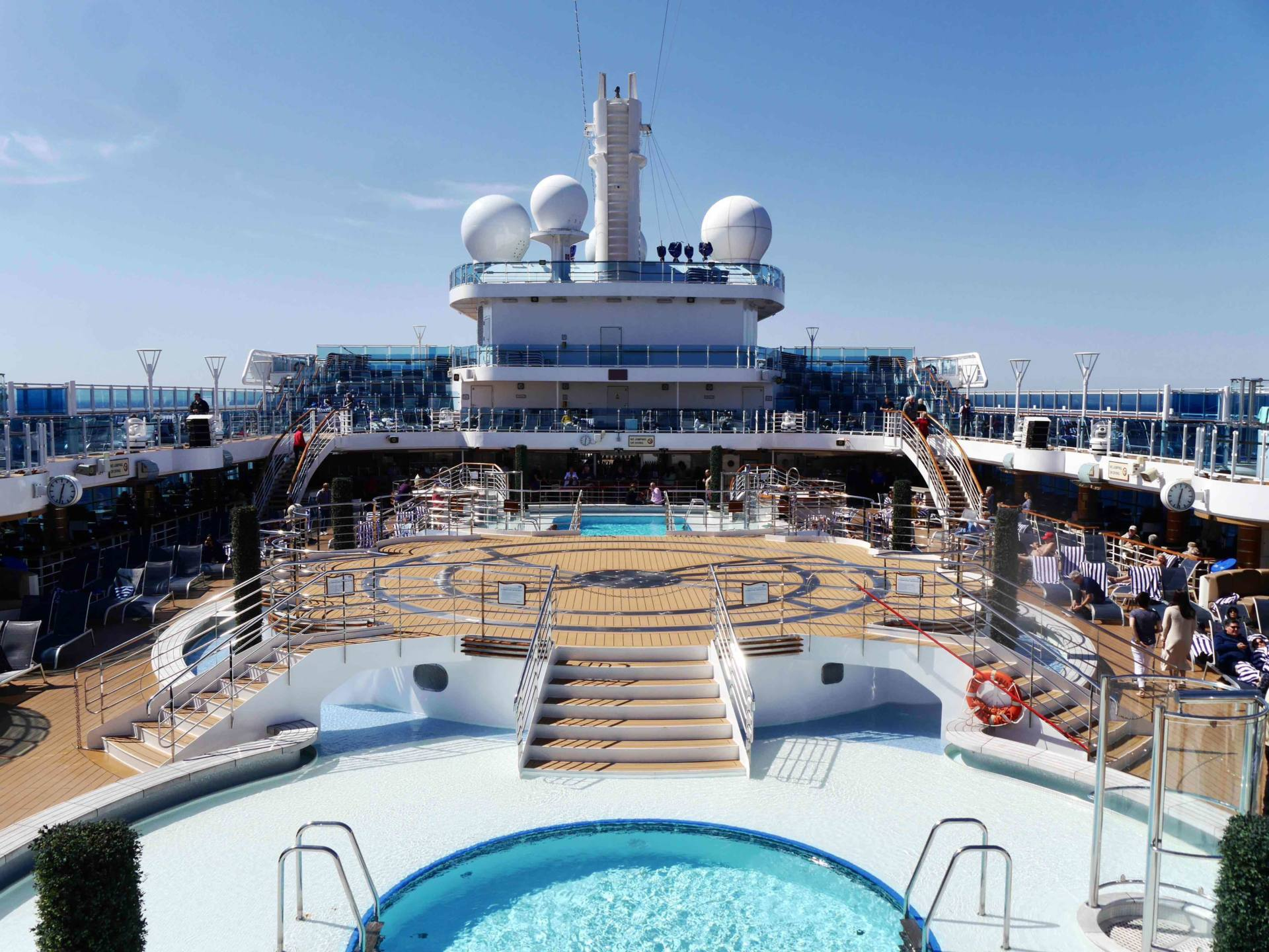 Regal Princess Cruise Ship - Pool Deck