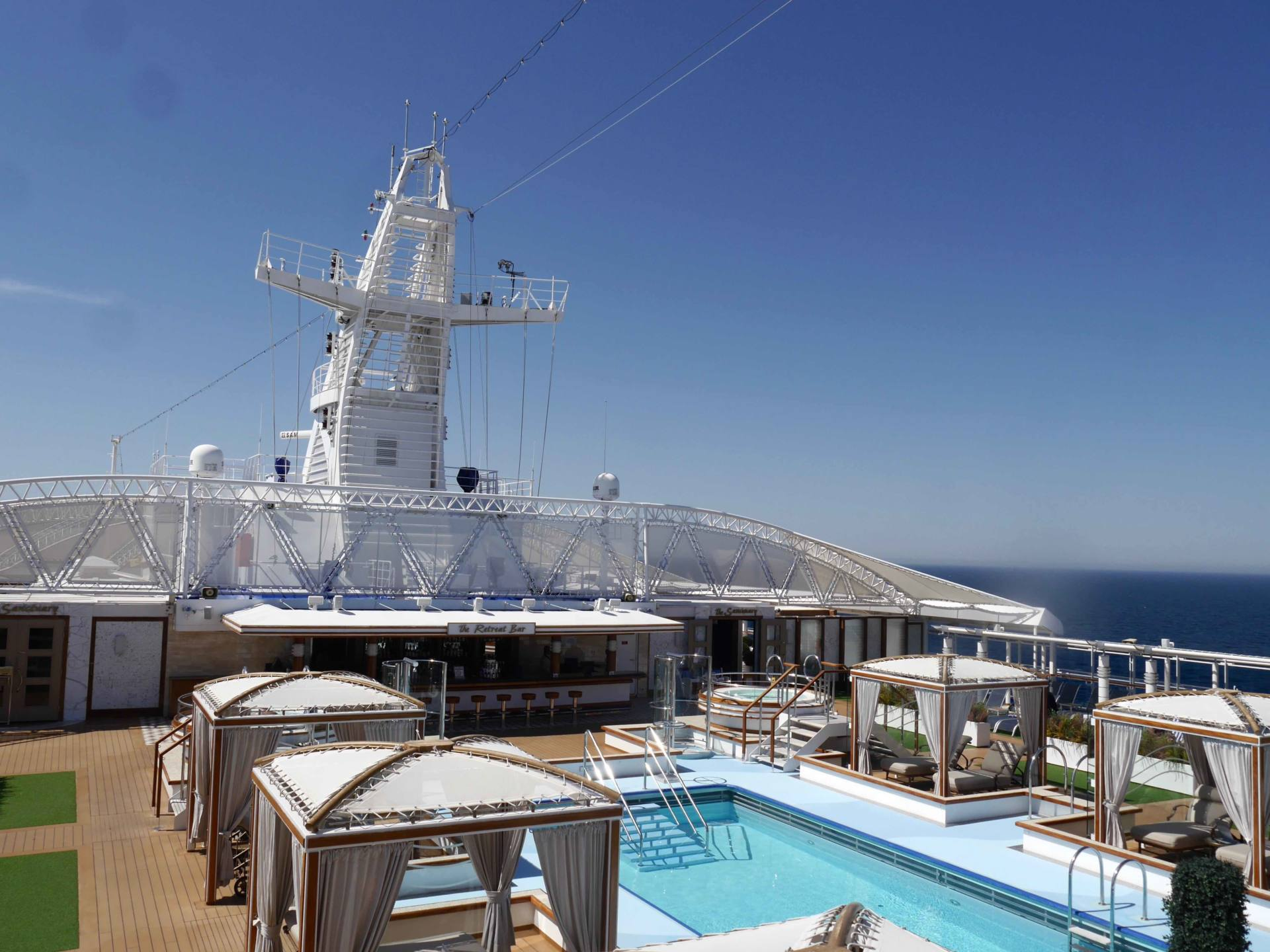 Regal Princess Cruise Ship - The Retreat