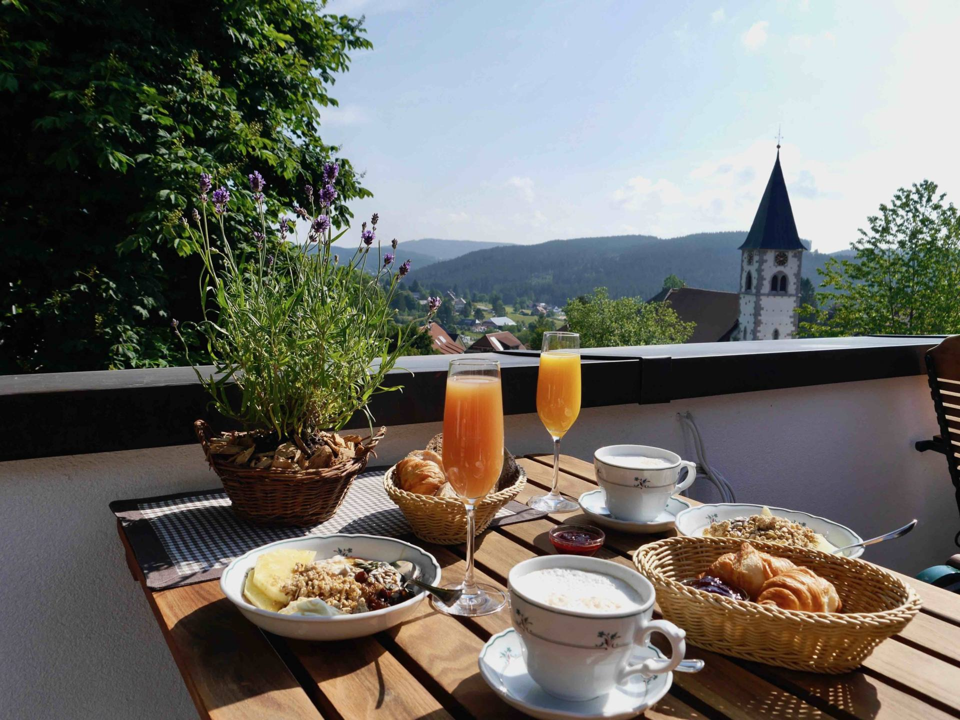 Breakfast Hotel Schlehdorn | Black Forest Itinerary