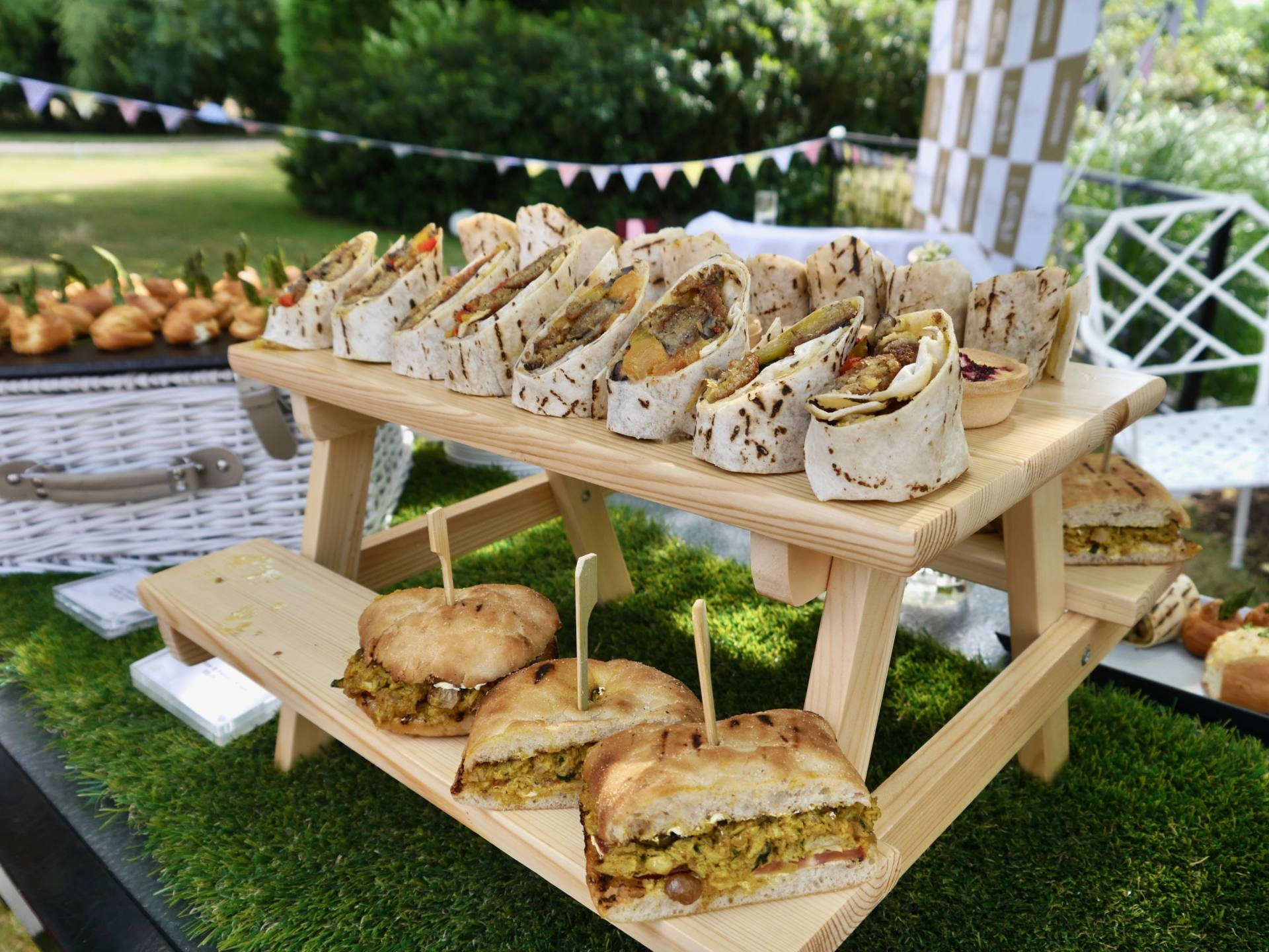 Sopwell House | Wraps | Garden Party