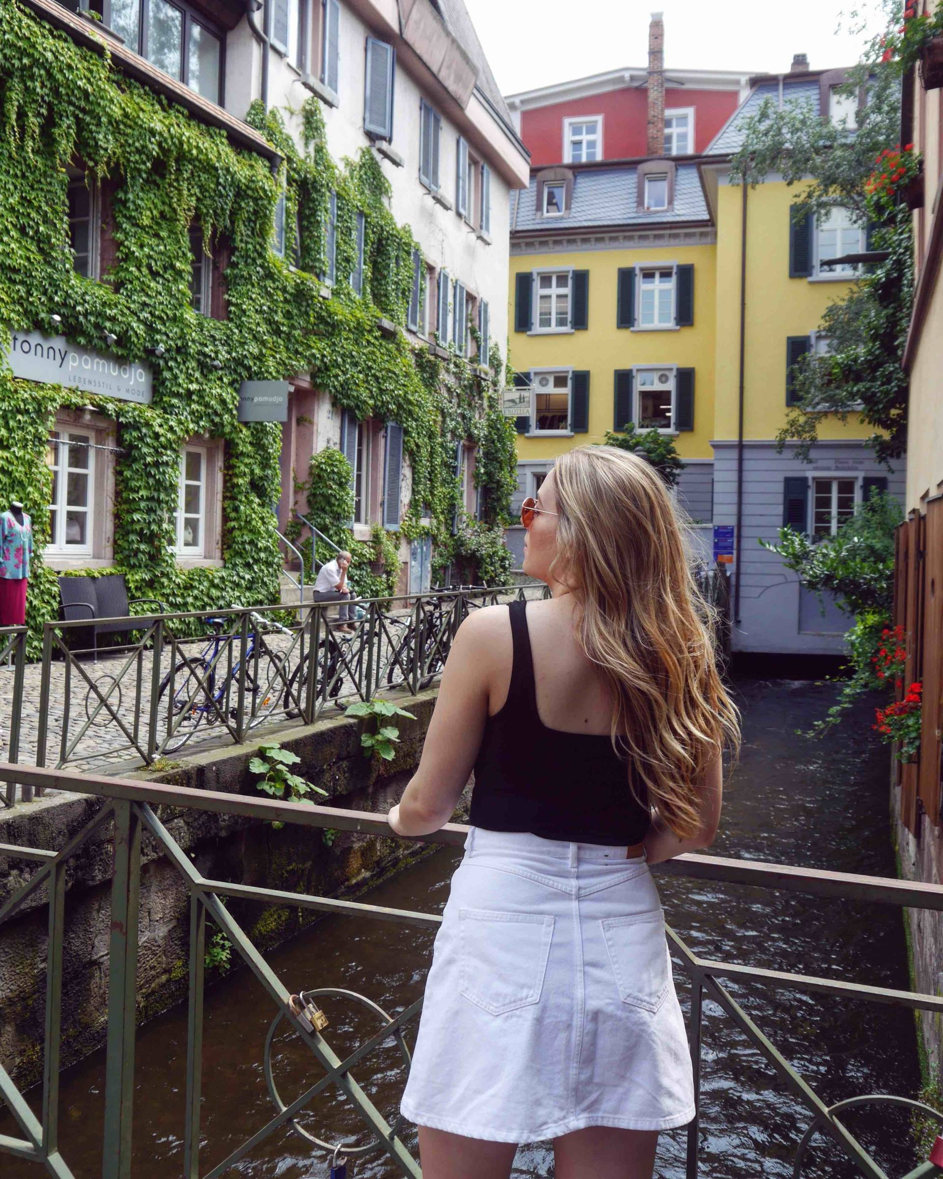 Gerberau | Most Instagrammable Places in Freiburg | The Travelista
