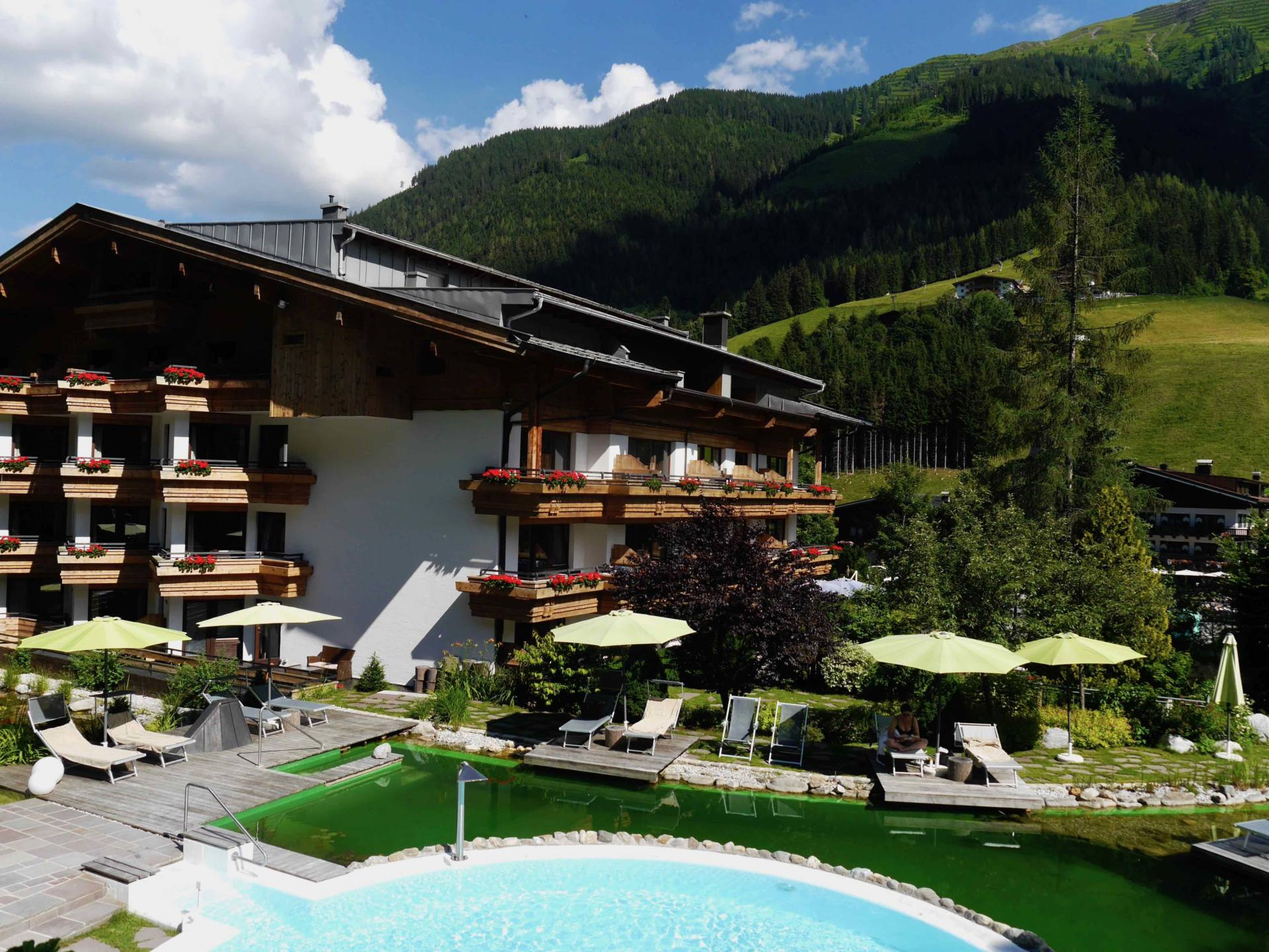 Austrian Alps in Summer | Gartenhotel Theresia
