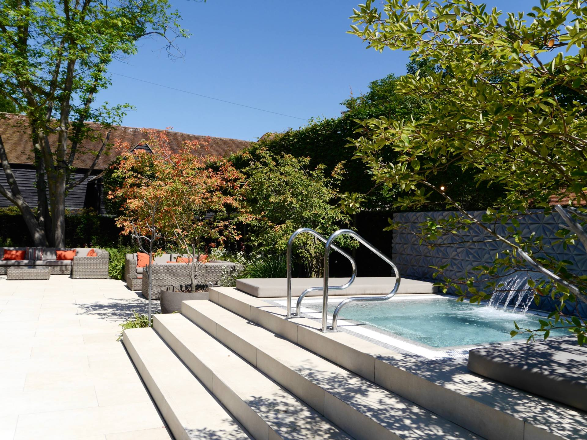 Sopwell House | Mews Plunge Pool