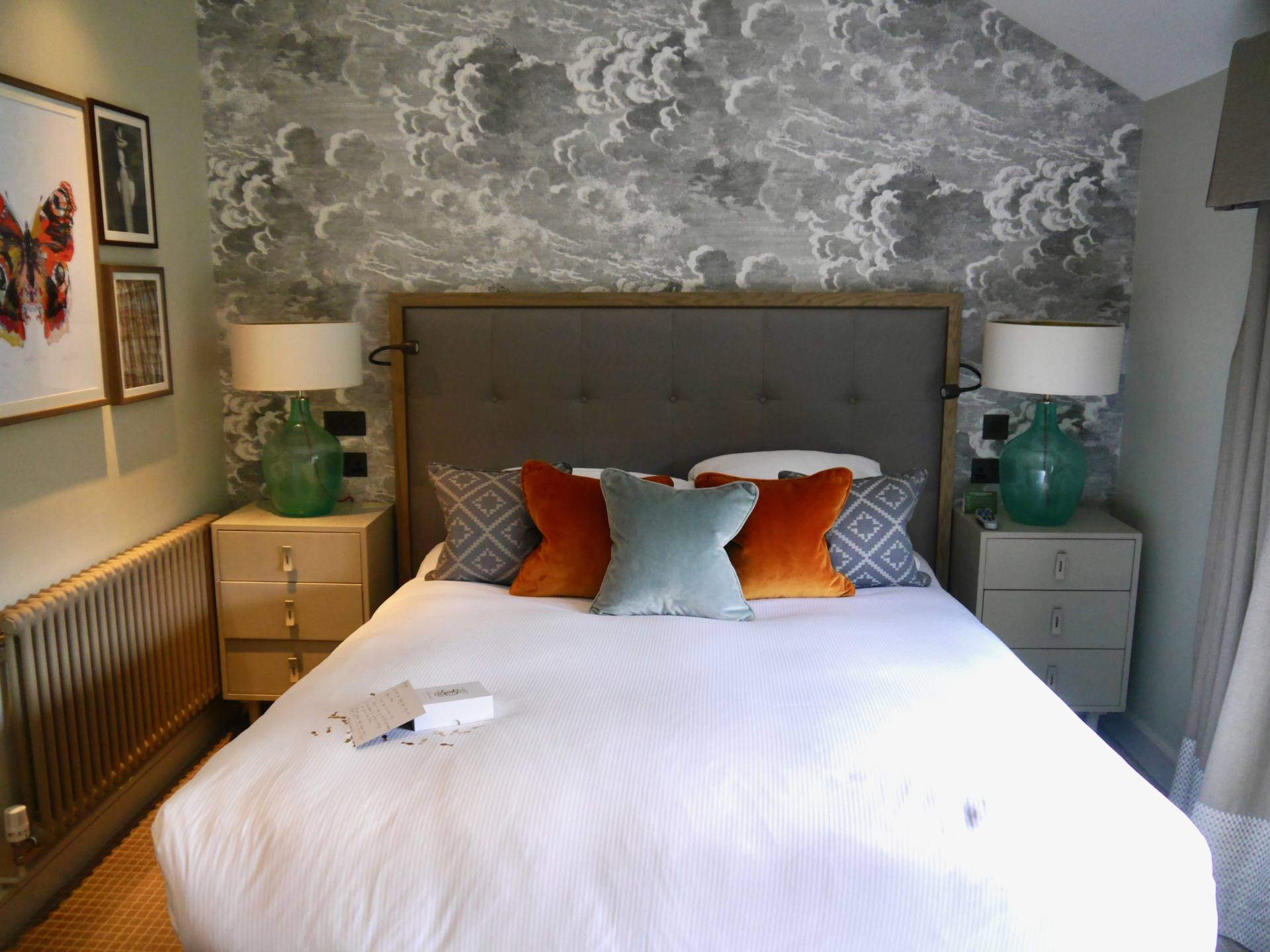 Sopwell House | Lavender Mews Duplex Suite | Bed
