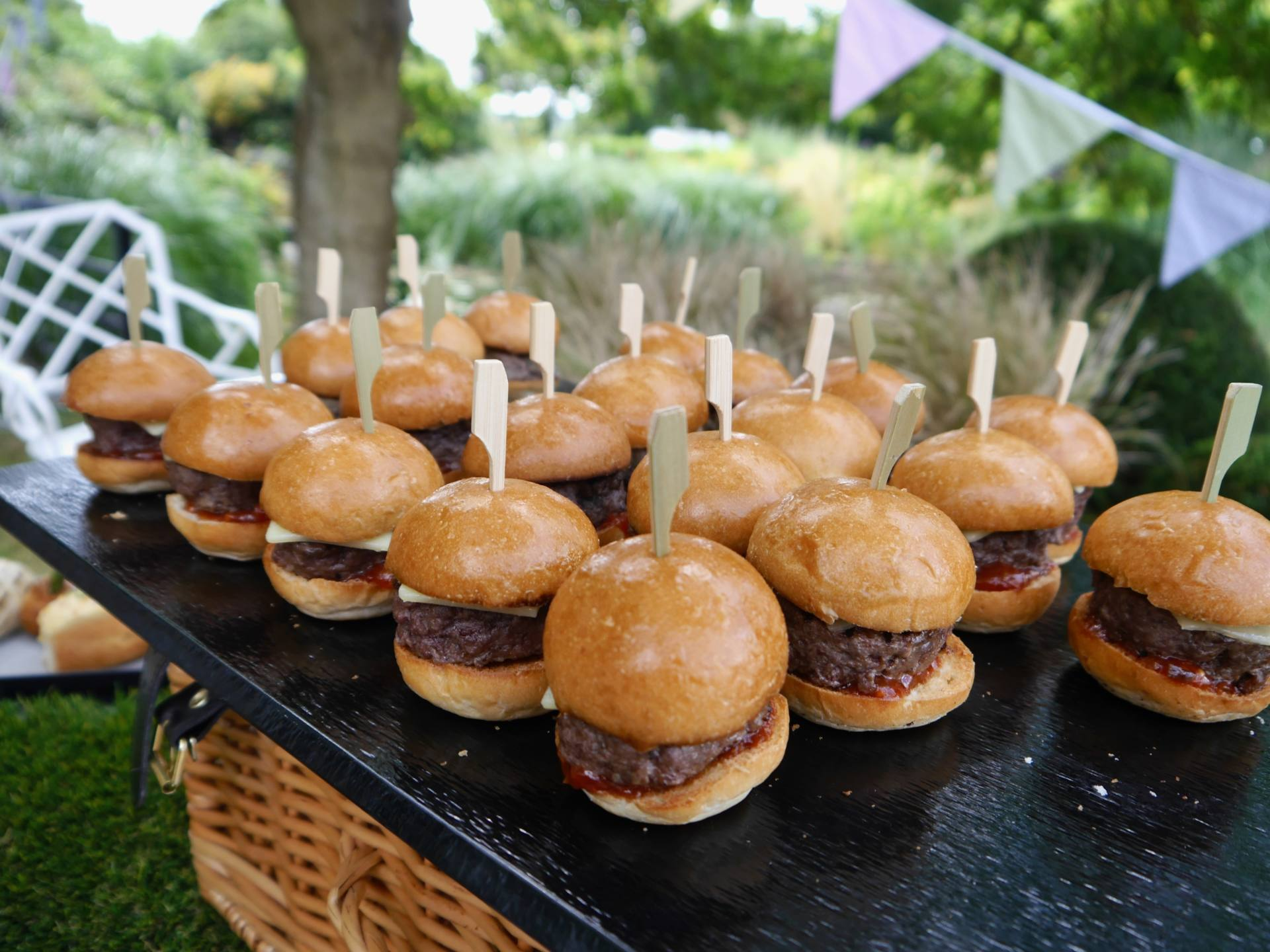 Sopwell House | Mini Burgers