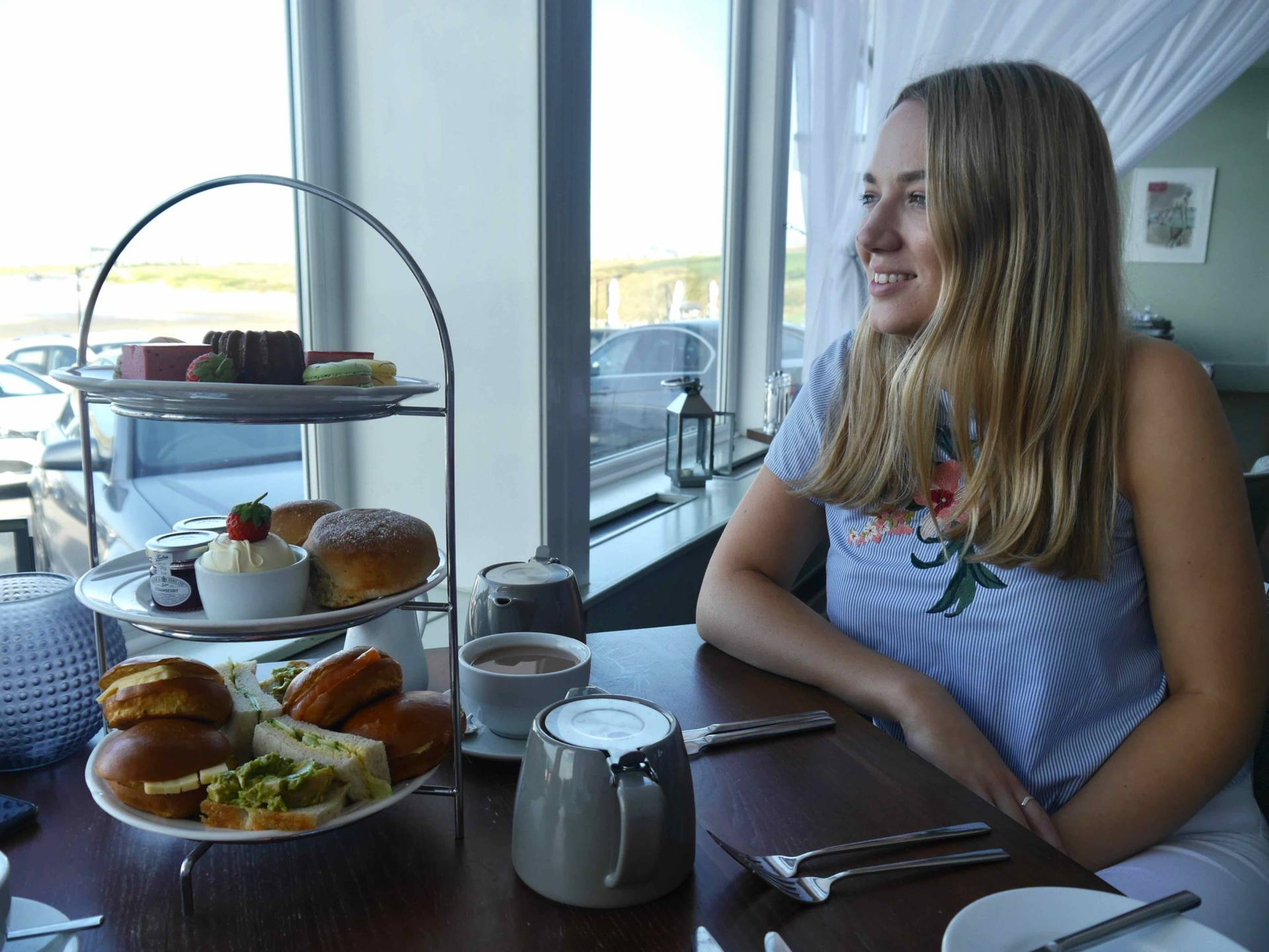 Fistral Beach Hotel and Spa | Afternoon Tea | The Travelista