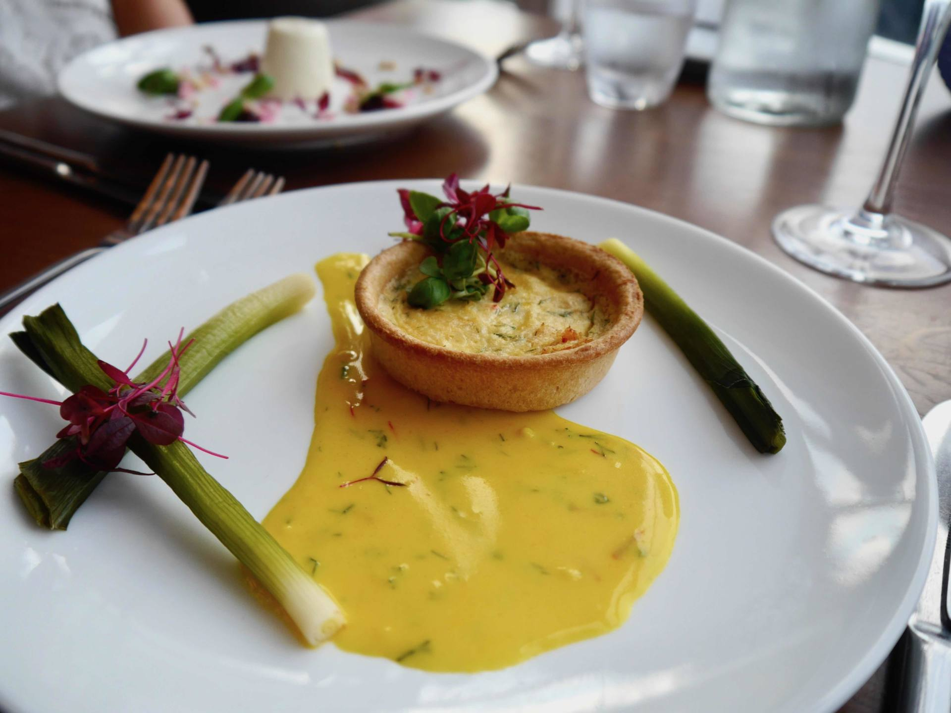 Fistral Beach Hotel and Spa | Dune Restaurant | Cornish Crab Tarte