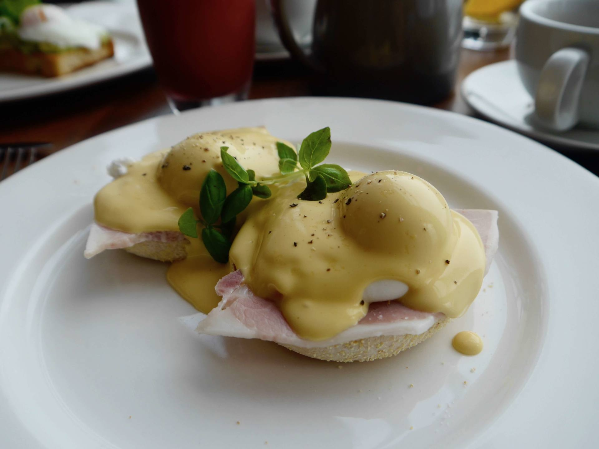 Fistral Beach Hotel and Spa | Eggs Benedict