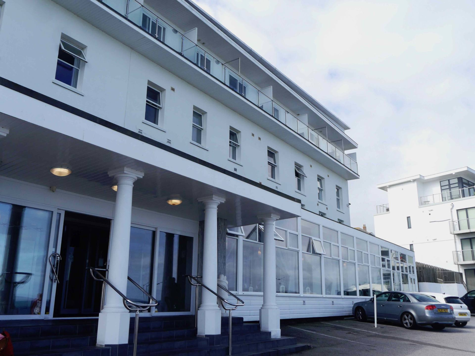 Fistral Beach Hotel Exterior