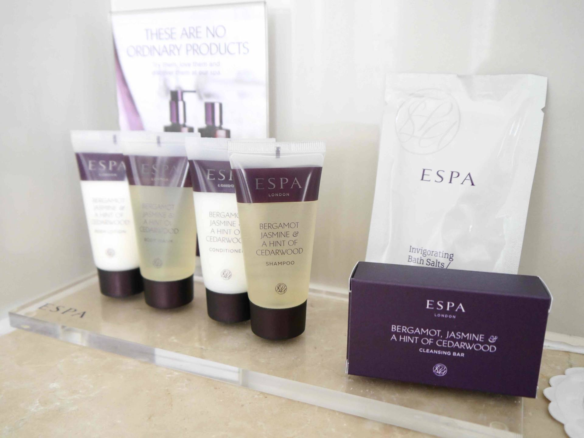 ESPA Hotel Toiletries