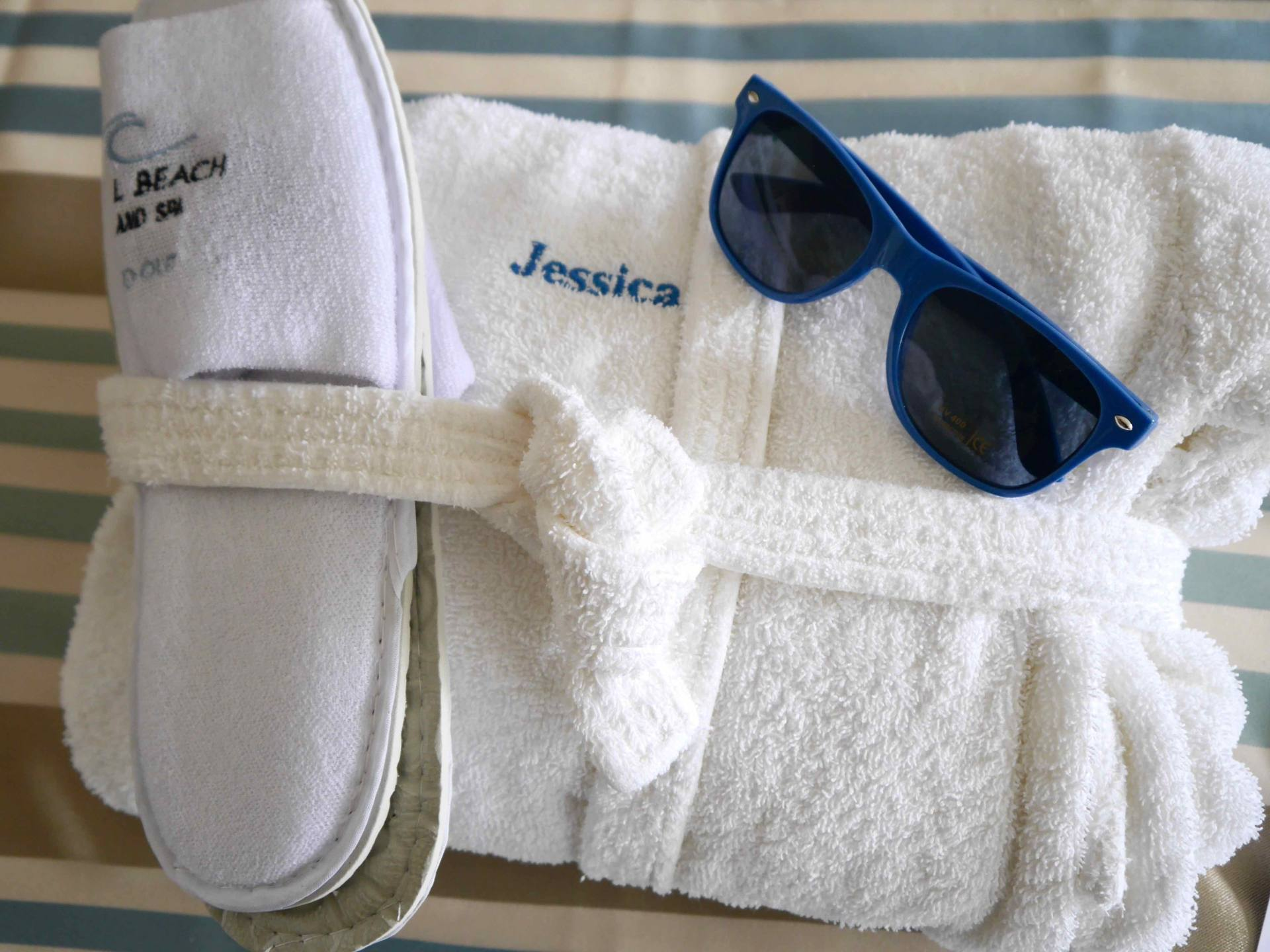 Fistral Beach Hotel and Spa Personalised Robe