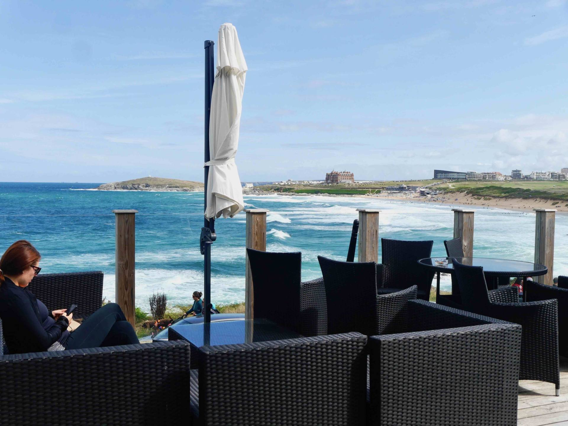 Fistral Beach Hotel and Spa | Outdoor Terrace