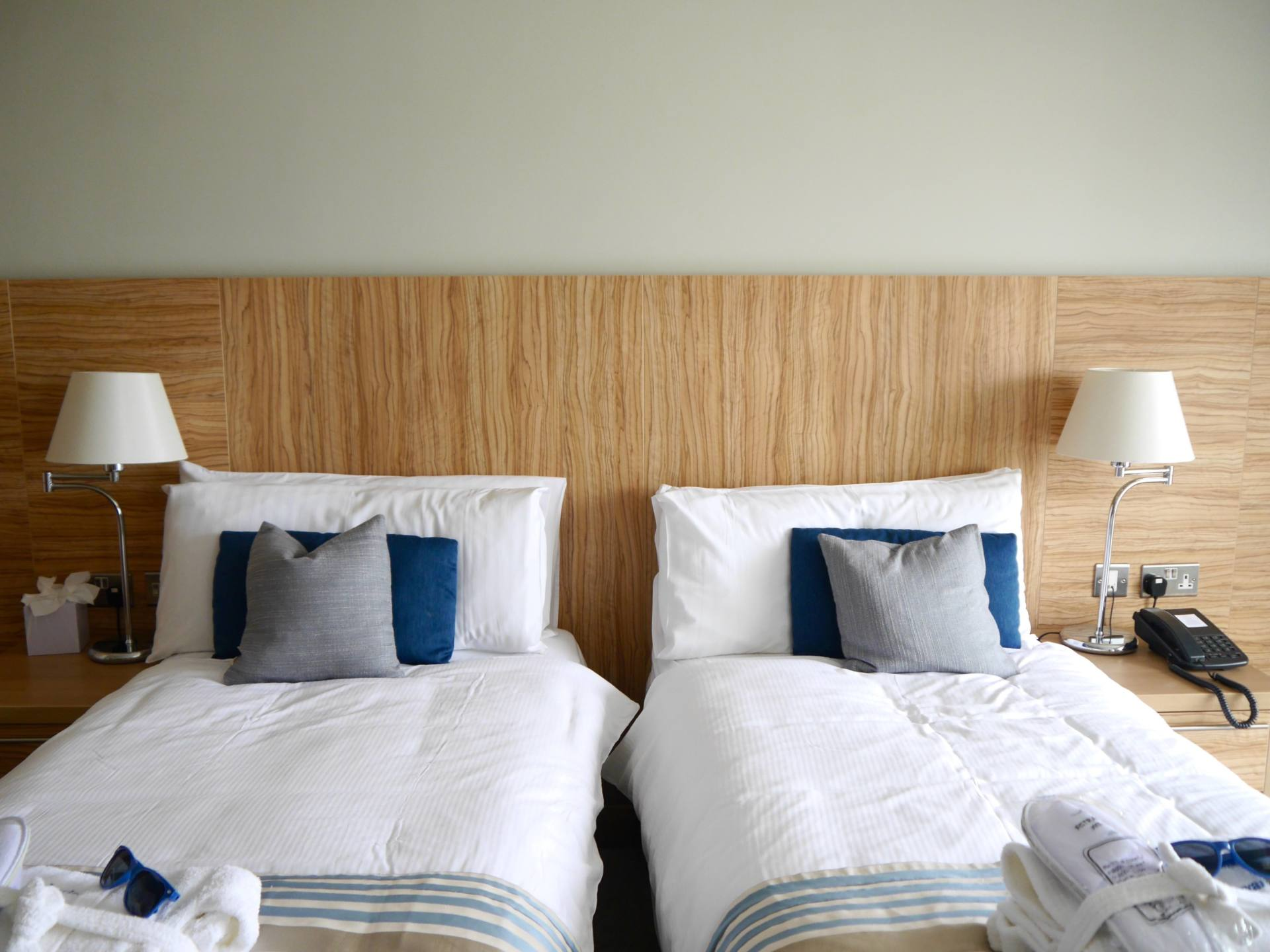 Fistral Beach Hotel and Spa | Best Category Twin Room