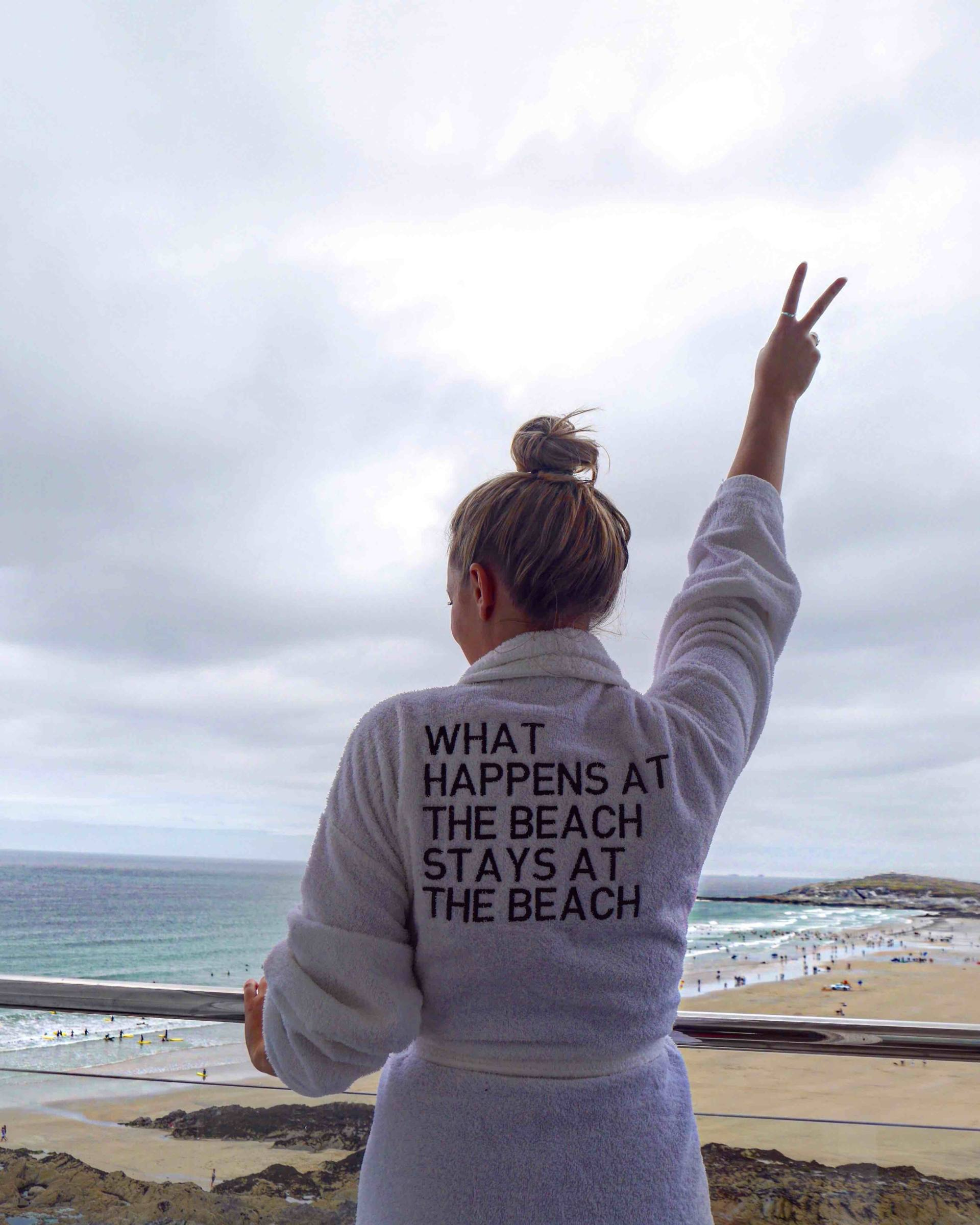 Fistral Beach Hotel and Spa | The Travelista Balcony
