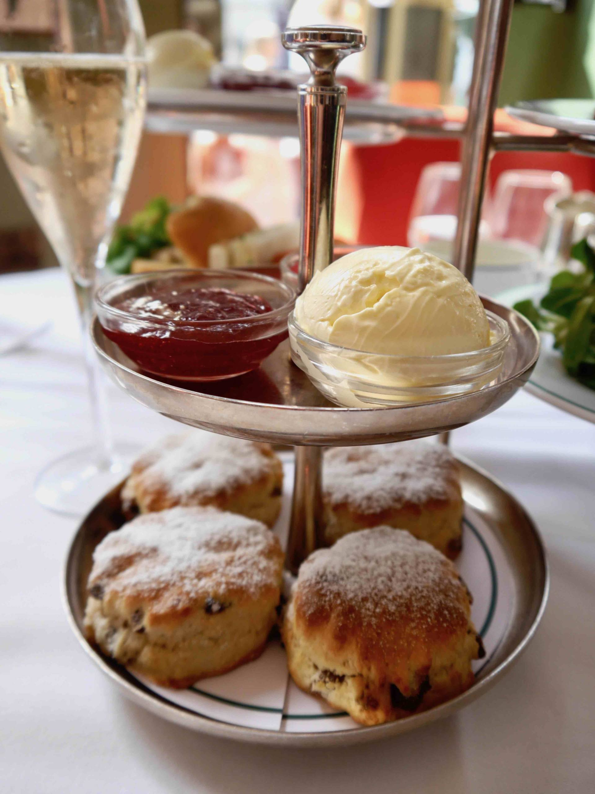 Scones | Afternoon tea at The Ivy St Helens Square, York