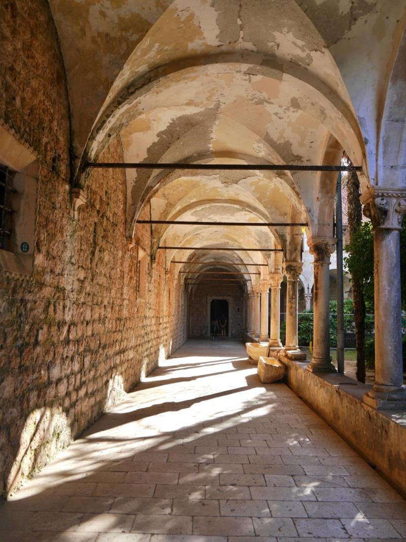 Cloisters Monastery Lokrum Island Dubrovnik