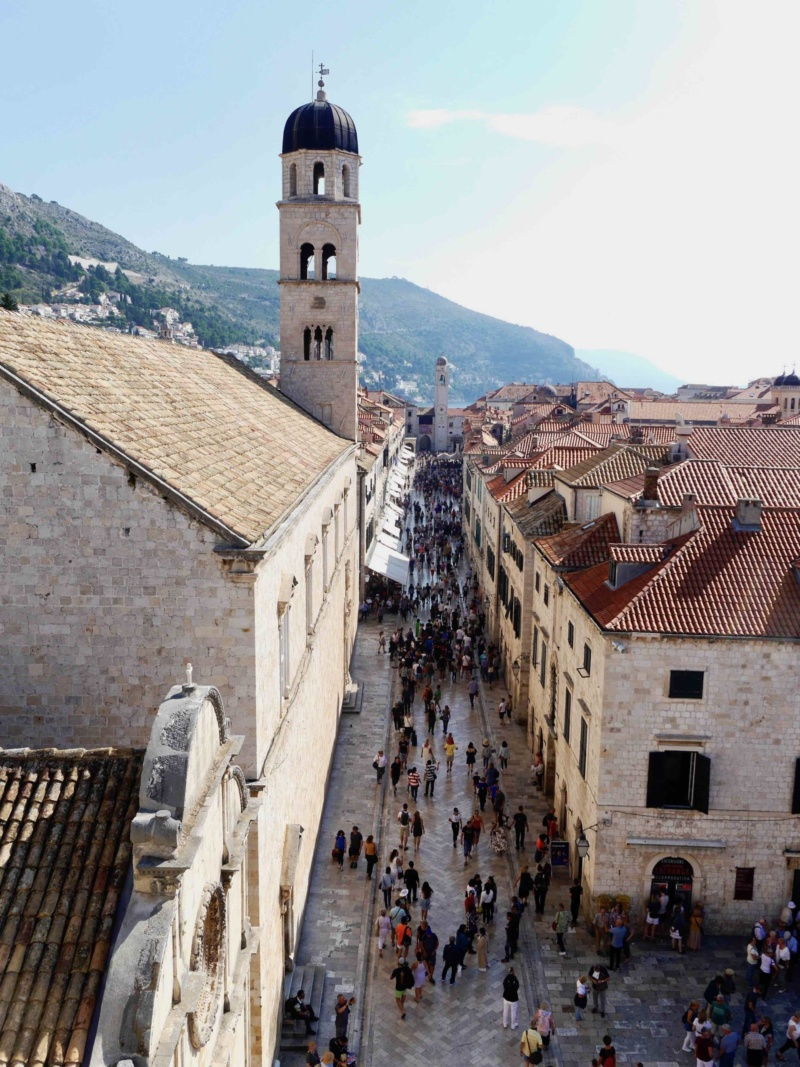 Dubrovnik Old Town Main Street