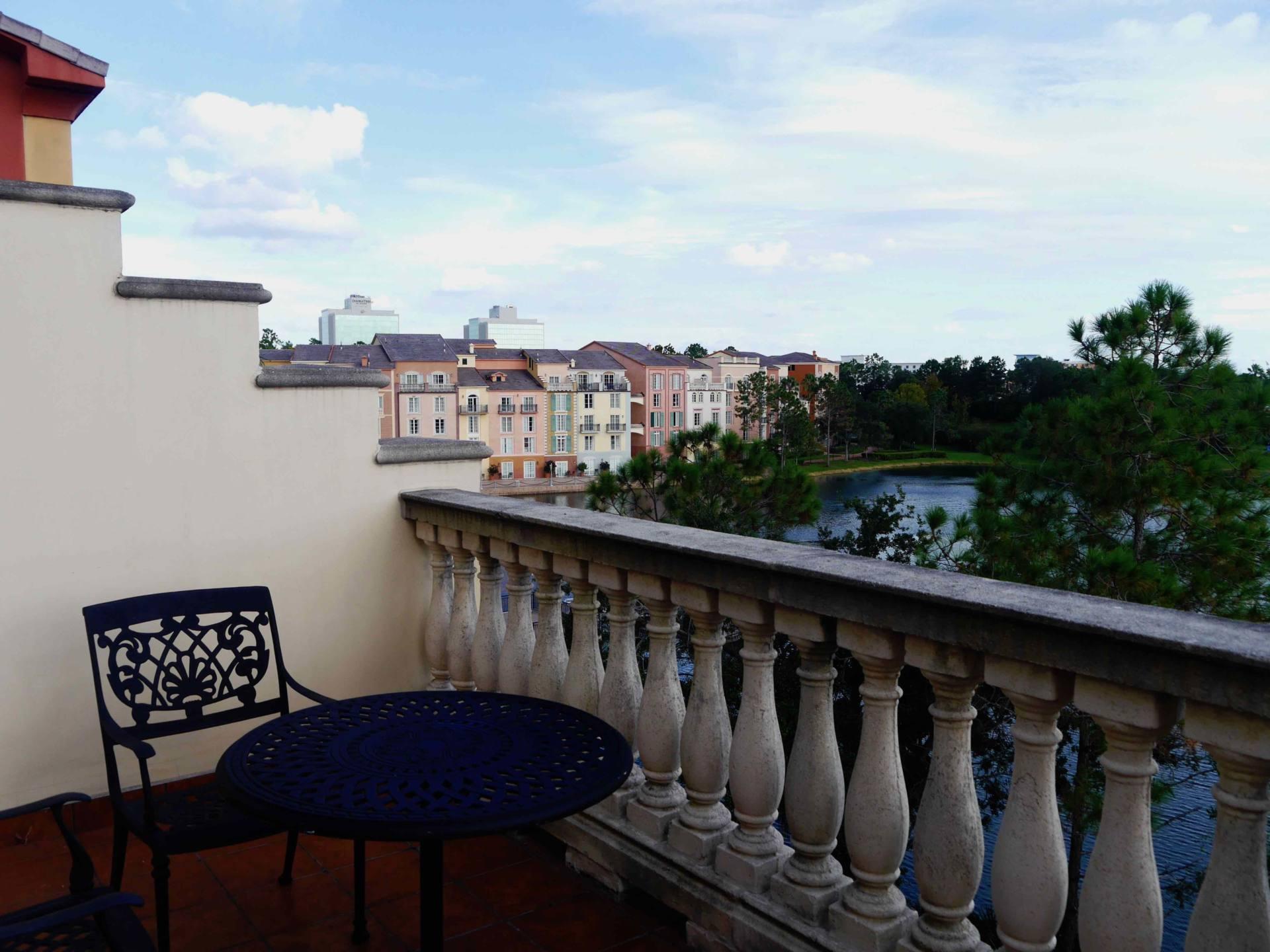Loews Portofino Bay Hotel | Universal Orlando Resort Hotel | Balcony